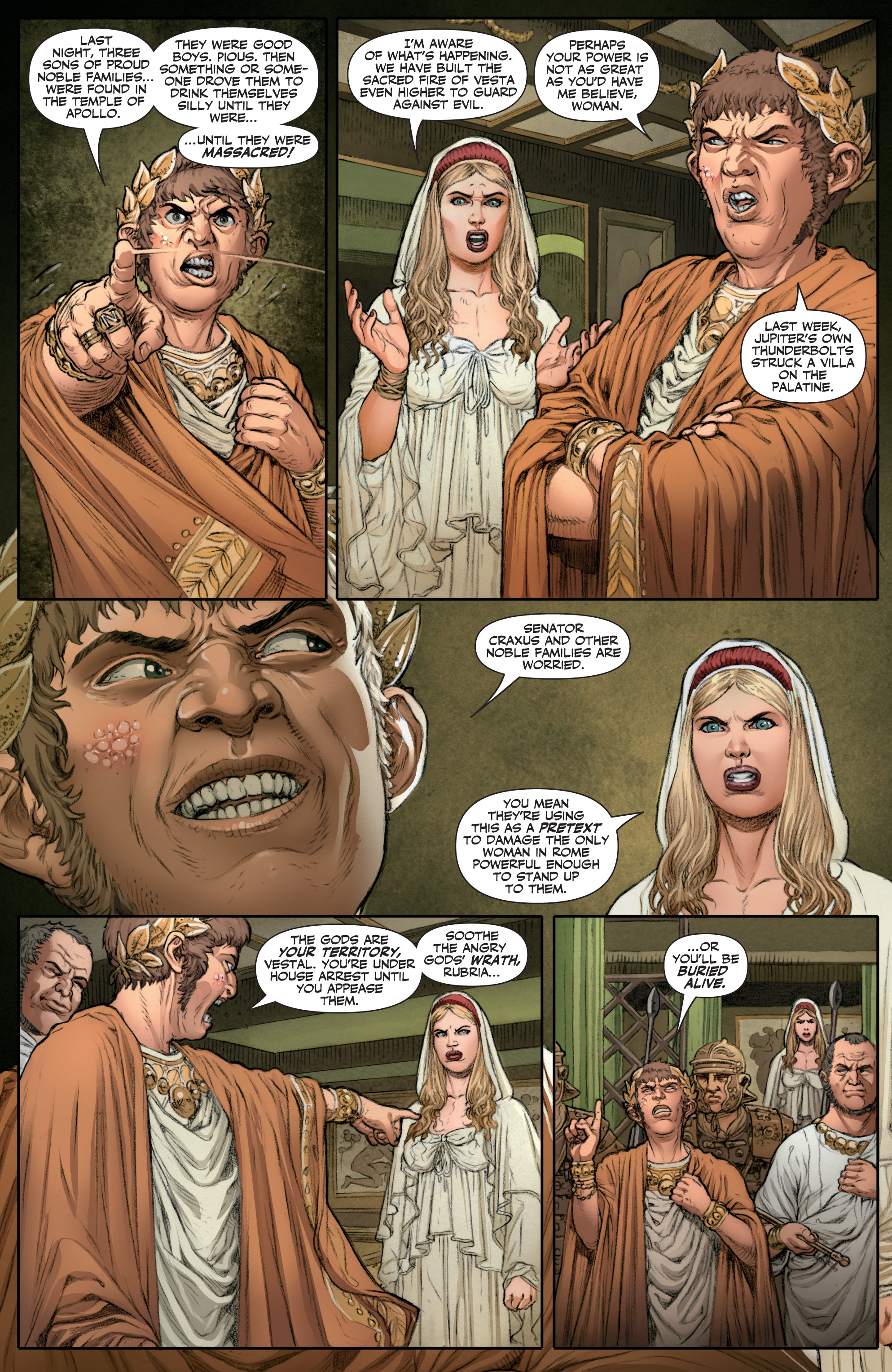Read online Britannia: We Who Are About To Die comic -  Issue #1 - 15