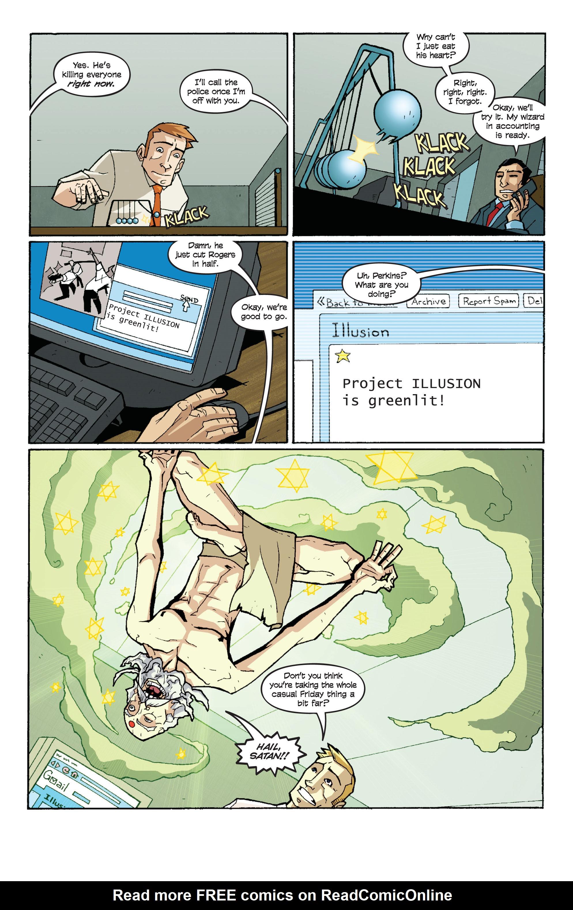 Read online Killer Of Demons comic -  Issue #3 - 12