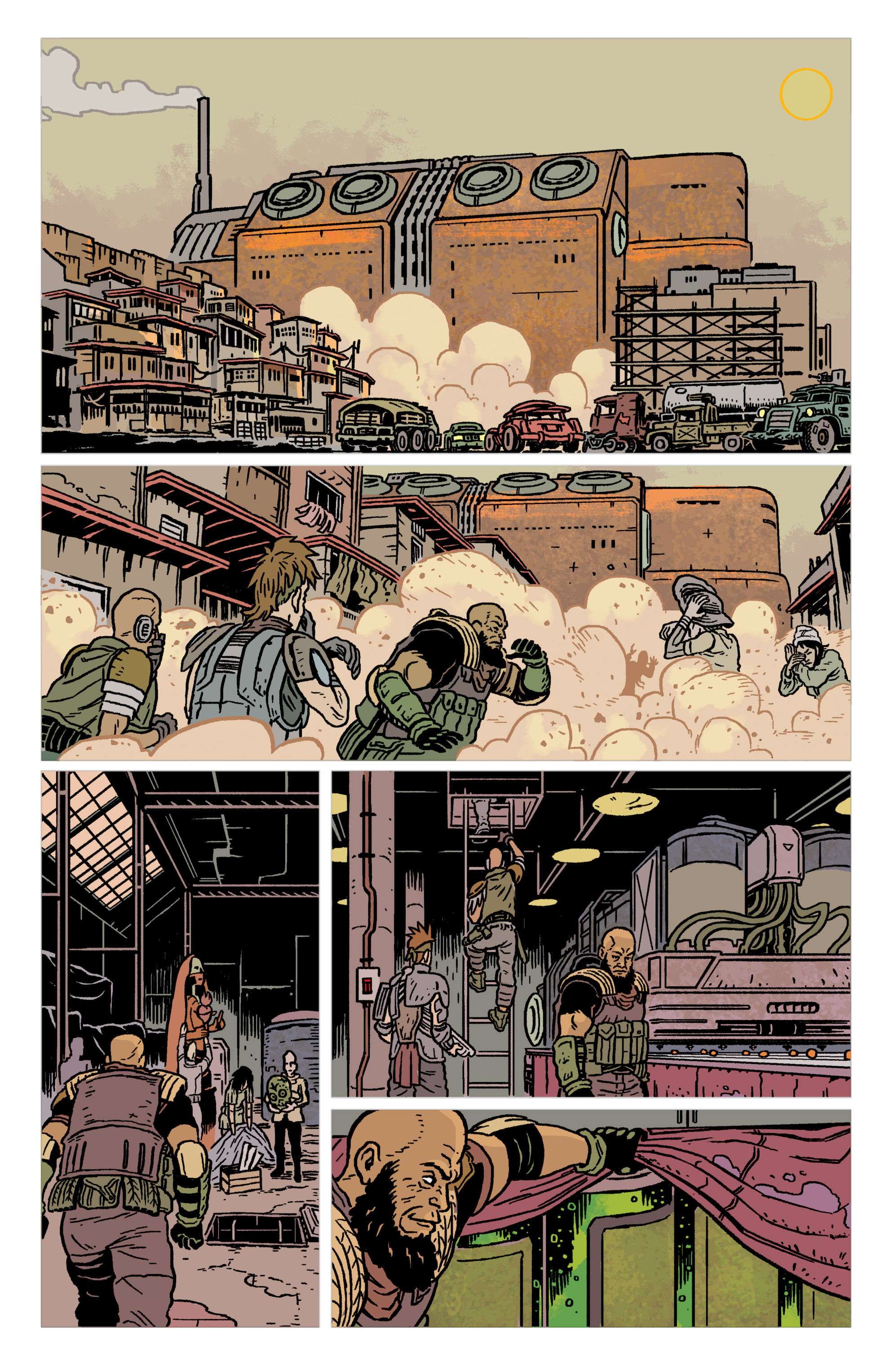 Read online Judge Dredd: The Blessed Earth comic -  Issue #2 - 11
