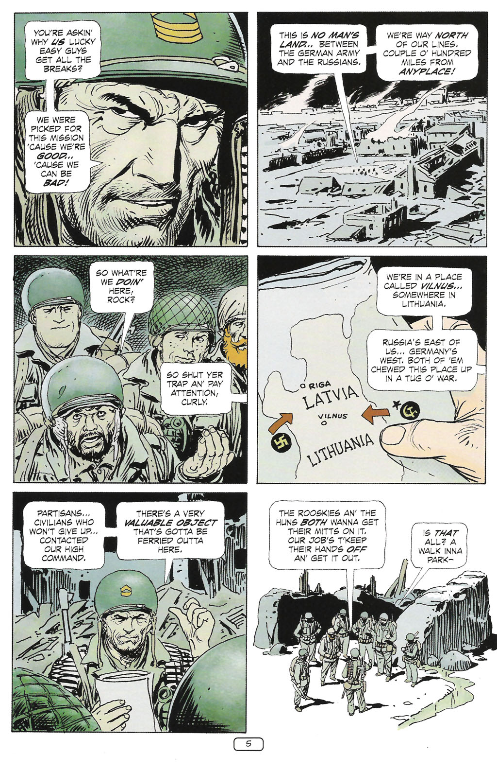 Read online Sgt. Rock: The Prophecy comic -  Issue #1 - 7