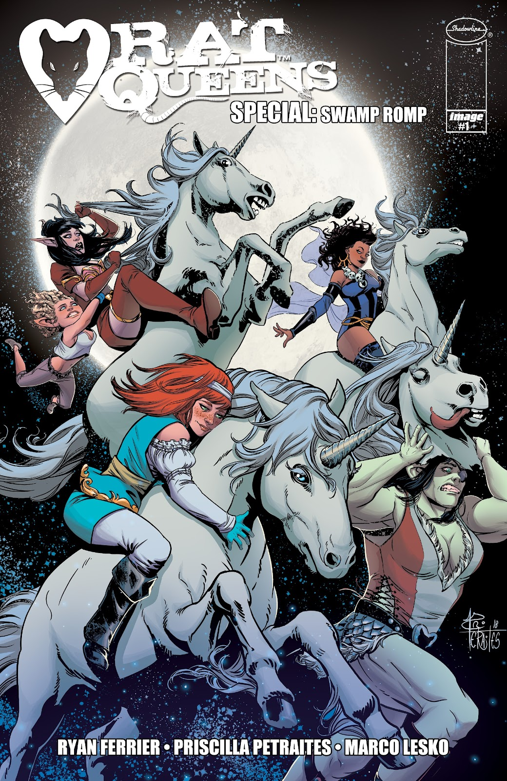 Read online Rat Queens Special: Swamp Romp comic -  Issue # Full - 1