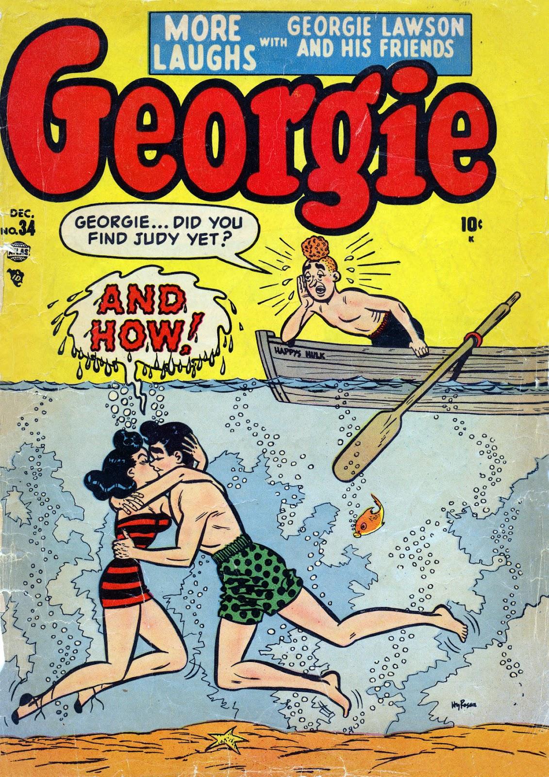 Georgie Comics (1949) issue 34 - Page 1