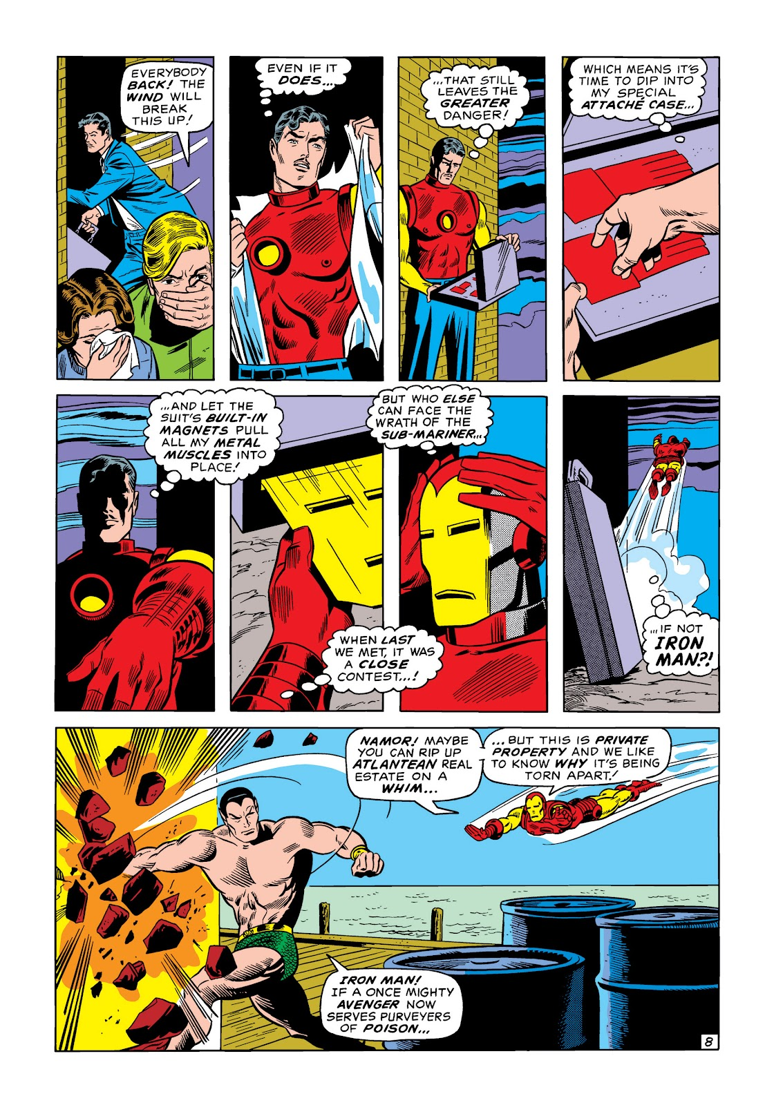 Read online Marvel Masterworks: The Invincible Iron Man comic -  Issue # TPB 6 (Part 3) - 24