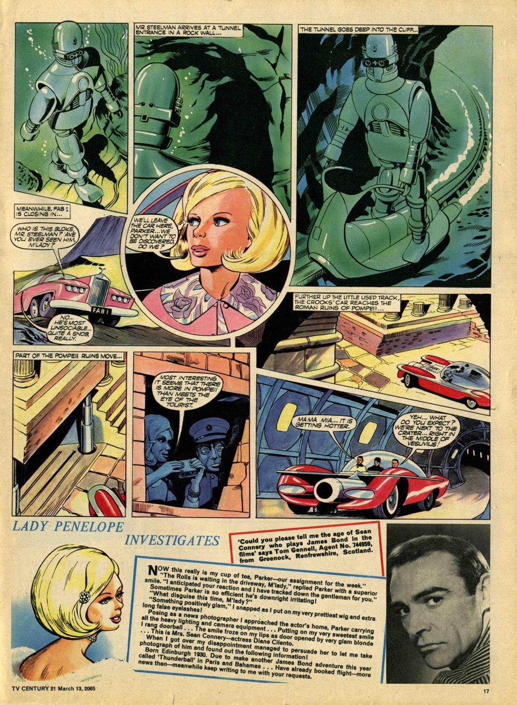 Read online TV Century 21 (TV 21) comic -  Issue #8 - 16