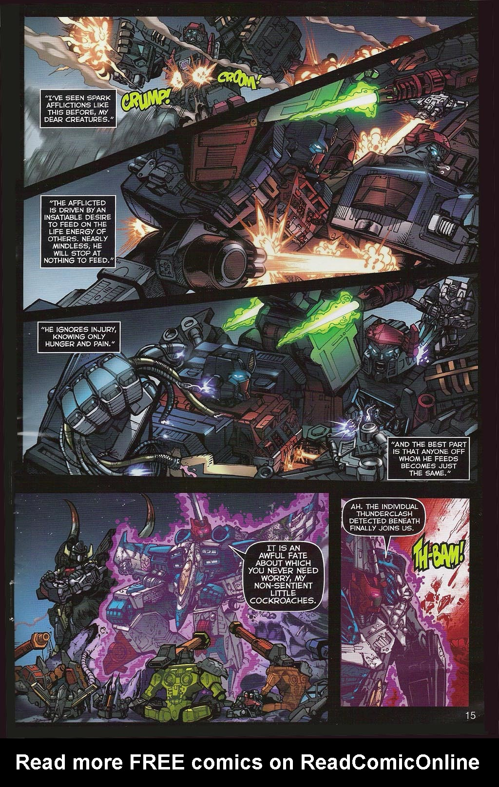 Read online Transformers: Collectors' Club comic -  Issue #4 - 15