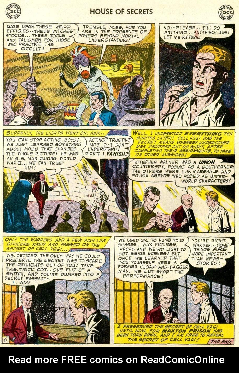 Comic House of Secrets (1956) issue 3