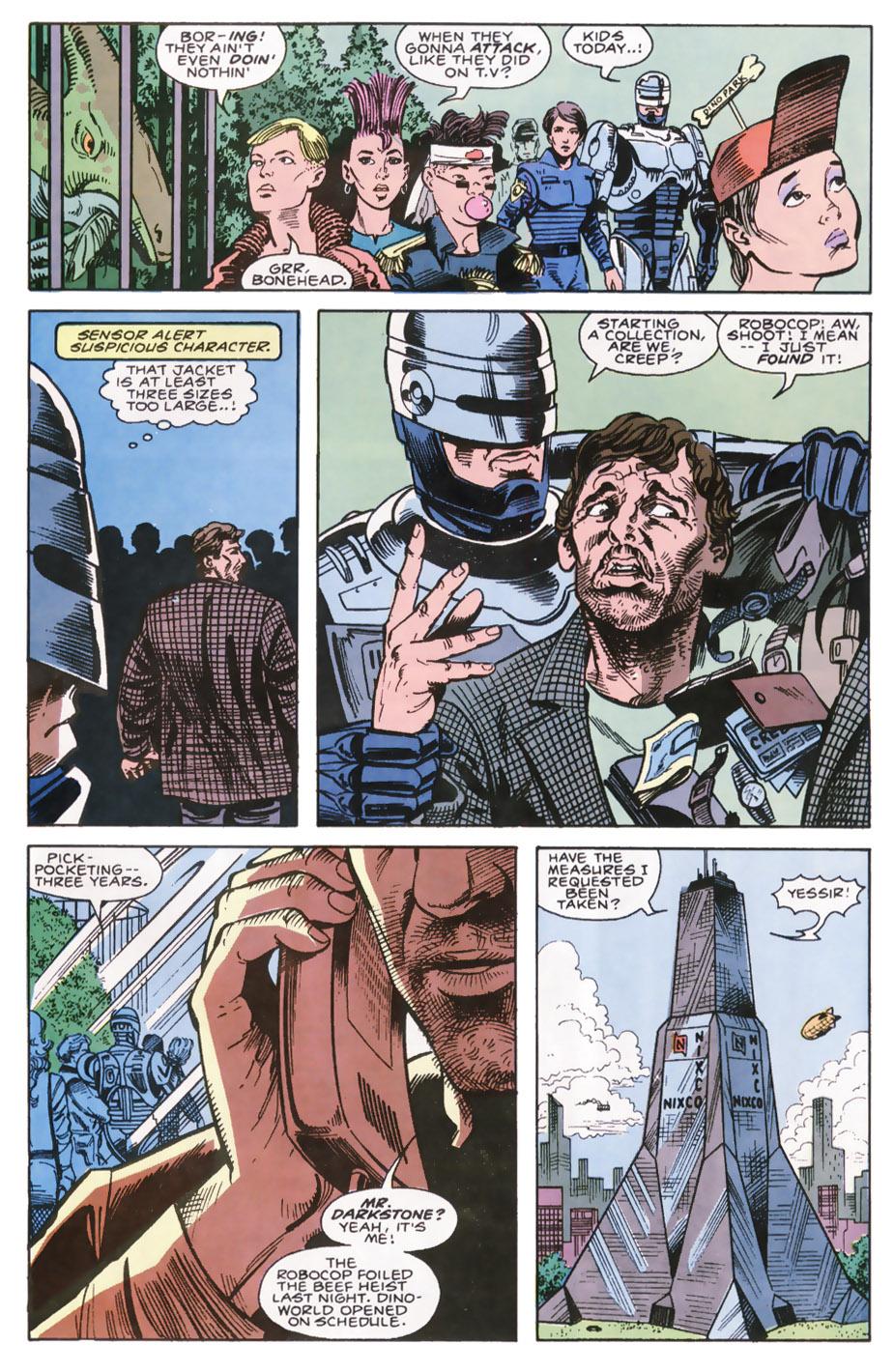 Read online Robocop (1990) comic -  Issue #7 - 15