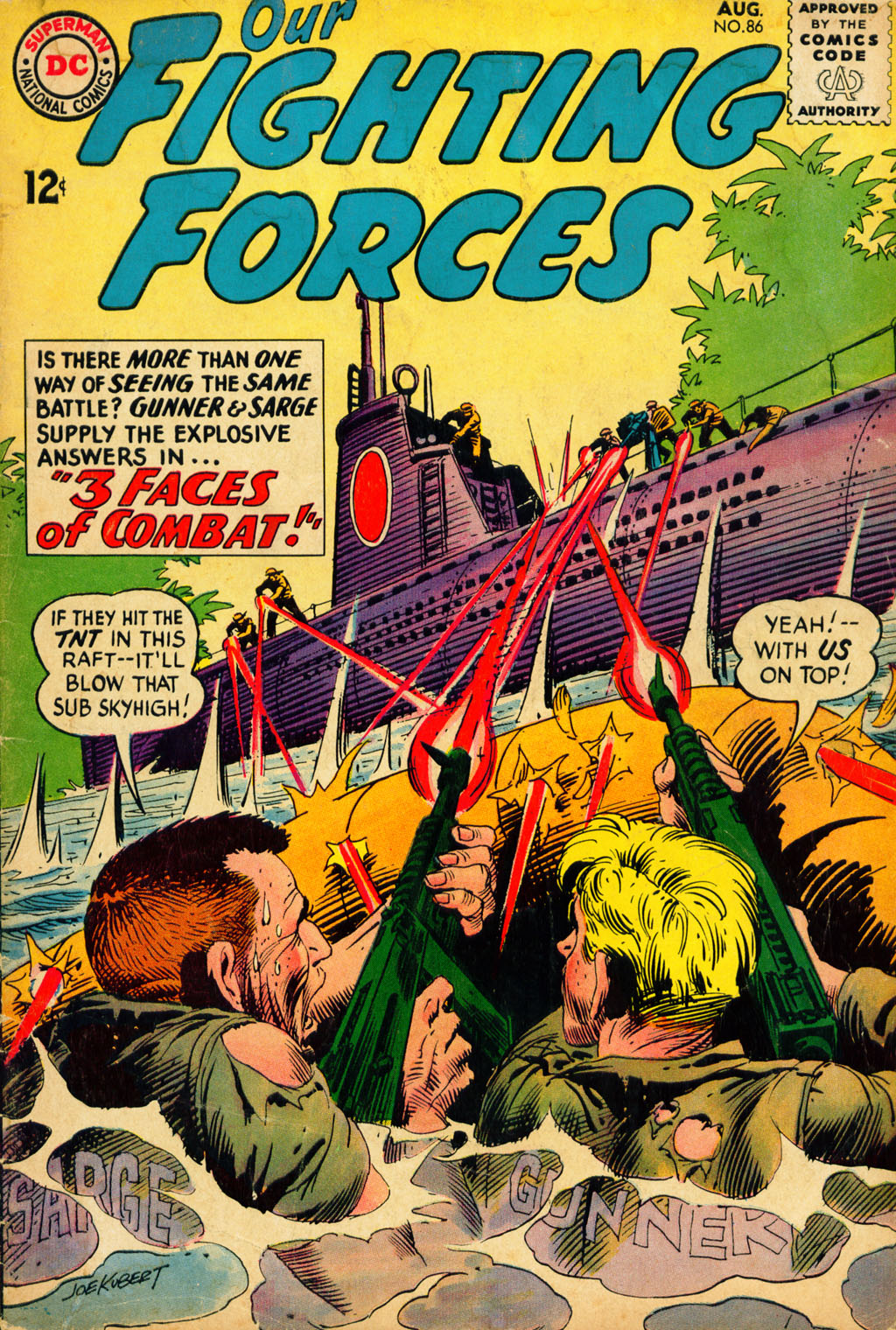 Our Fighting Forces (1954) issue 86 - Page 1