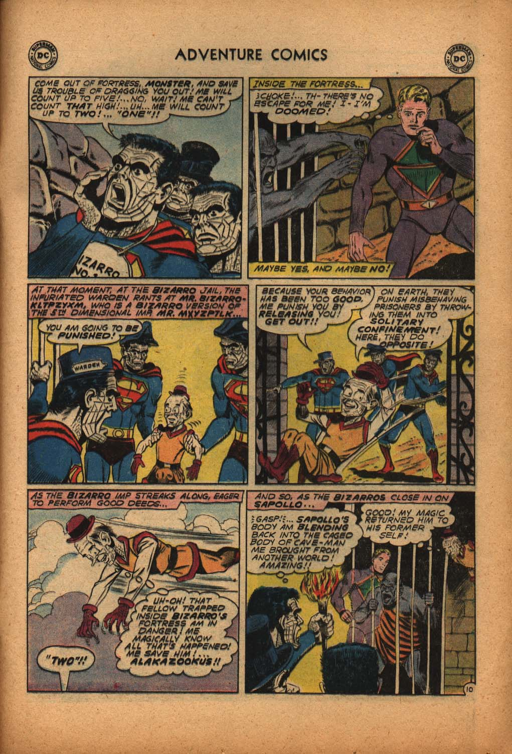 Read online Adventure Comics (1938) comic -  Issue #292 - 29