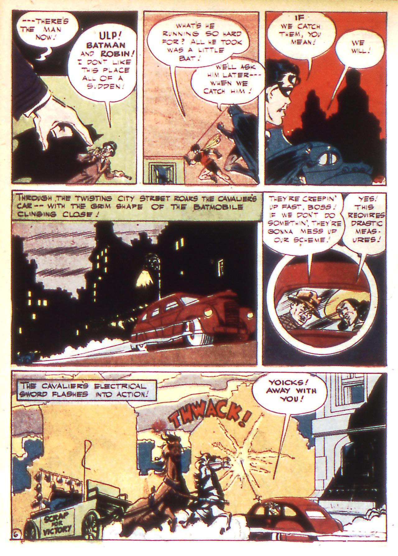 Read online Detective Comics (1937) comic -  Issue #81 - 8