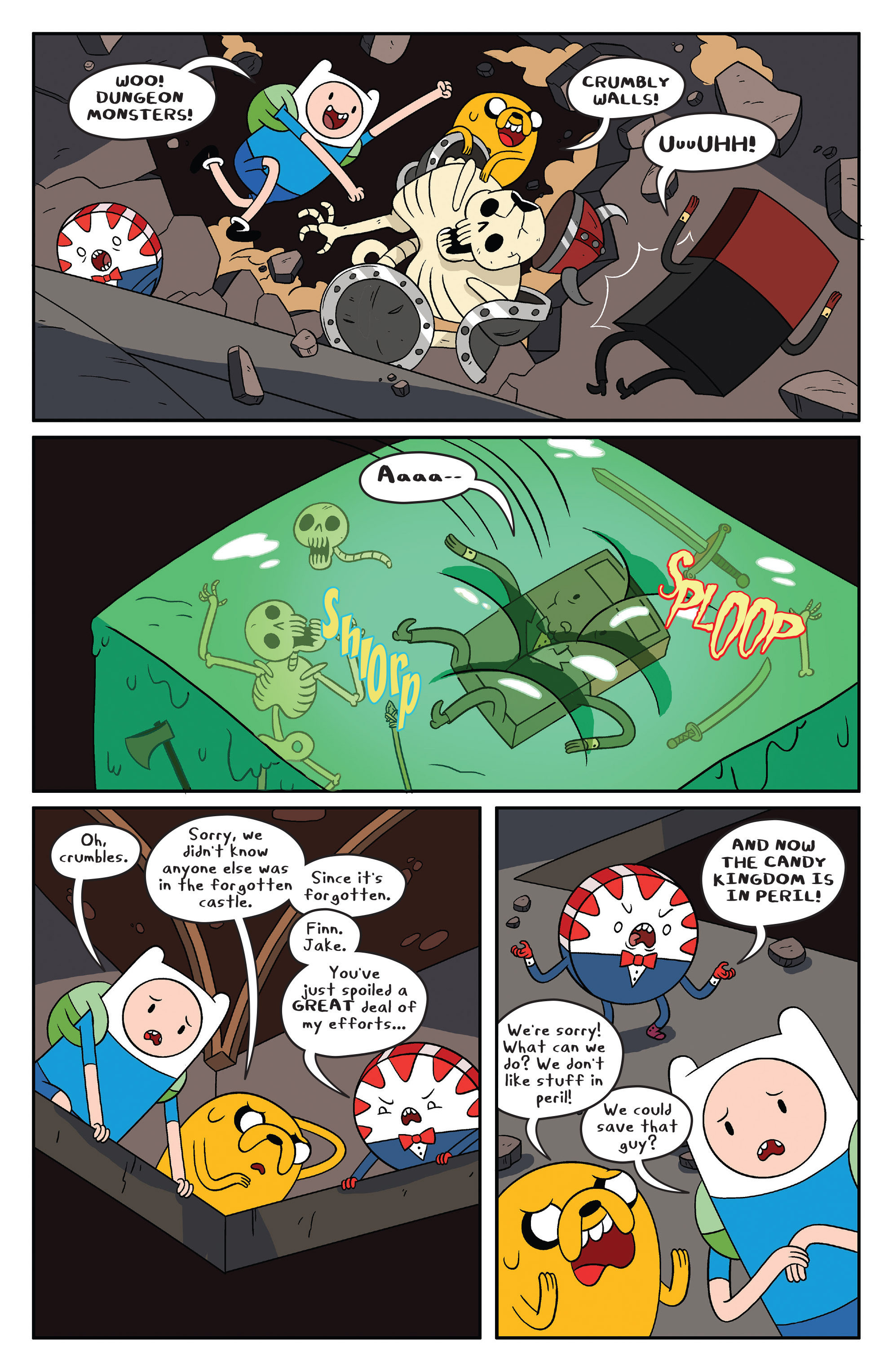 Read online Adventure Time comic -  Issue #41 - 8