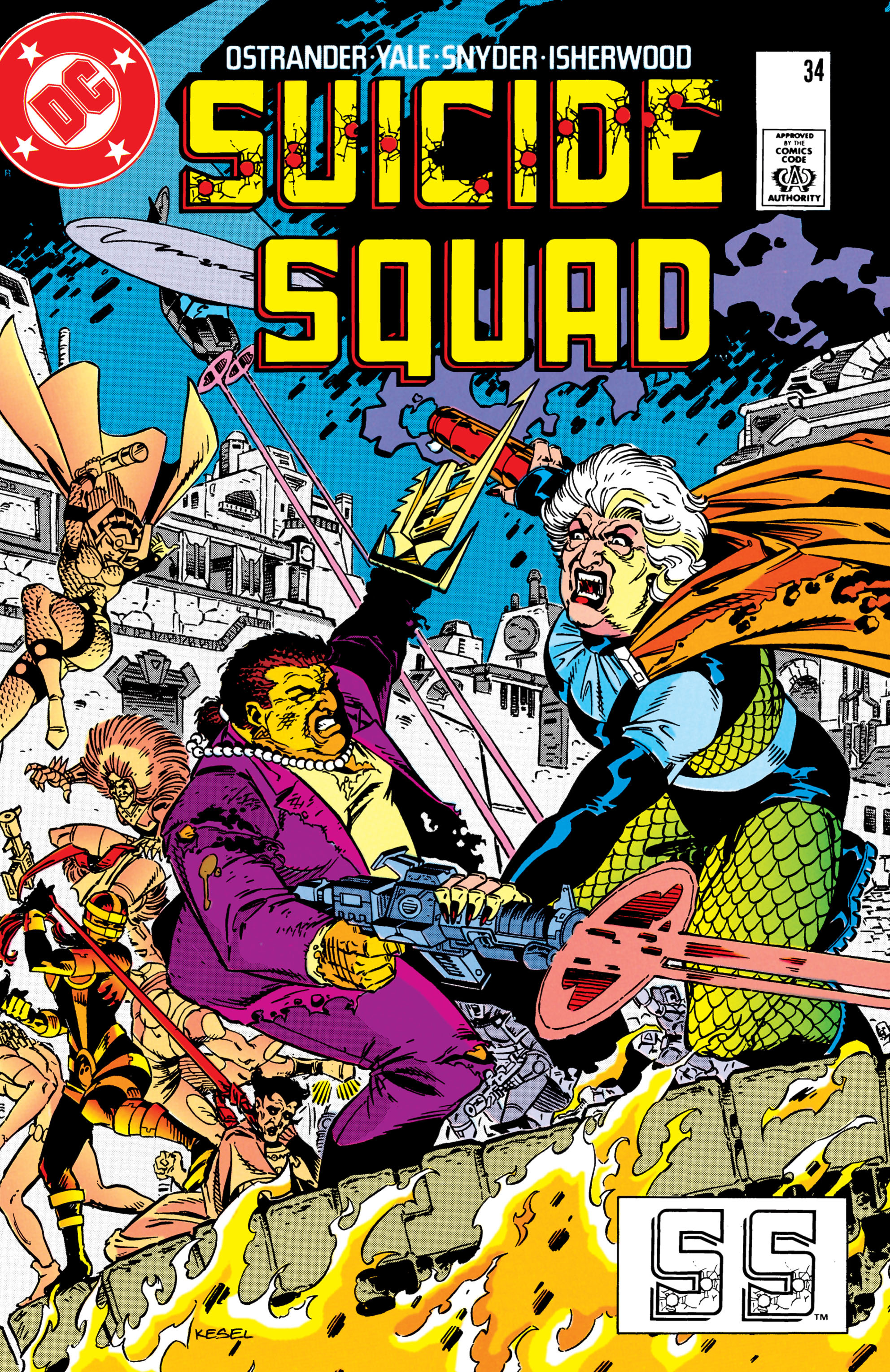 Suicide Squad (1987) issue 34 - Page 1