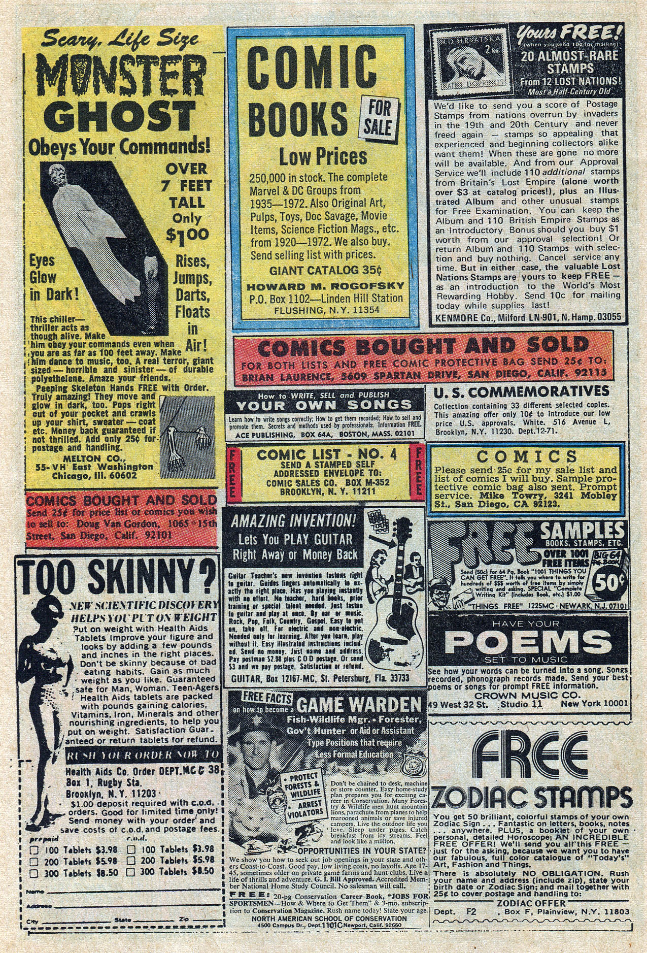 Read online Amazing Adventures (1970) comic -  Issue #10 - 22
