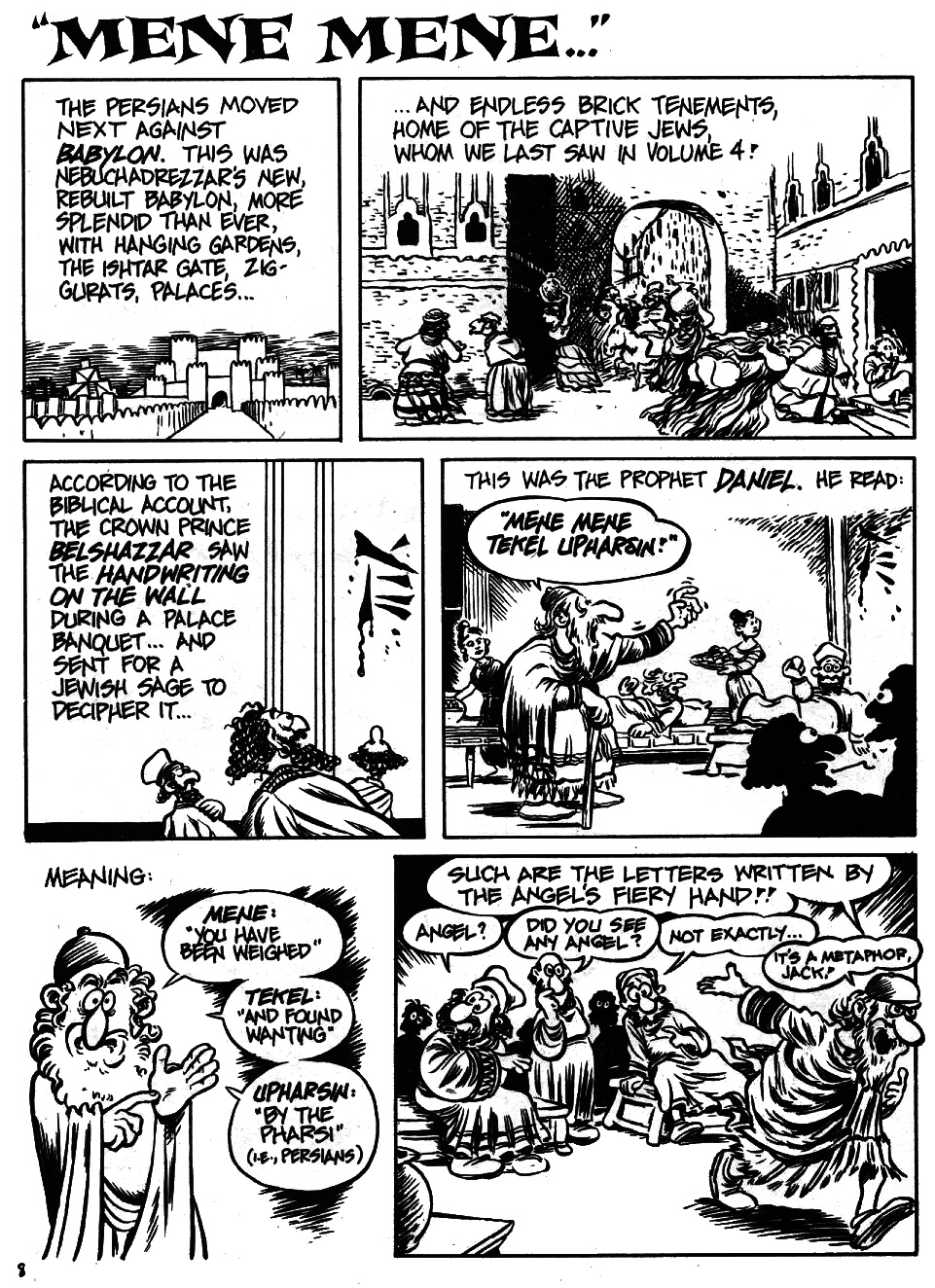 Read online The Cartoon History of the Universe comic -  Issue #6 - 10
