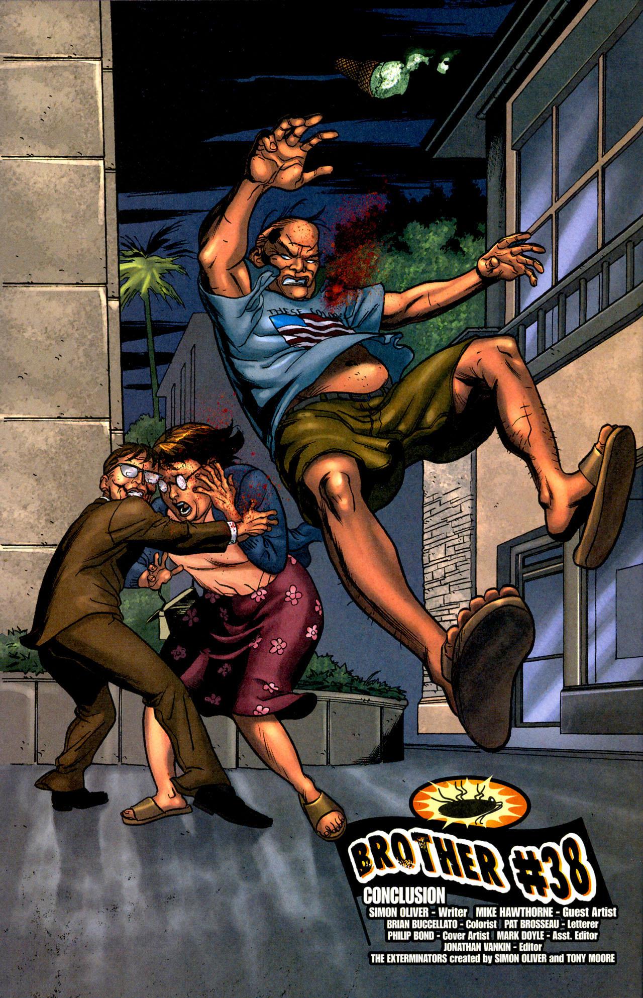 Read online The Exterminators comic -  Issue #12 - 5
