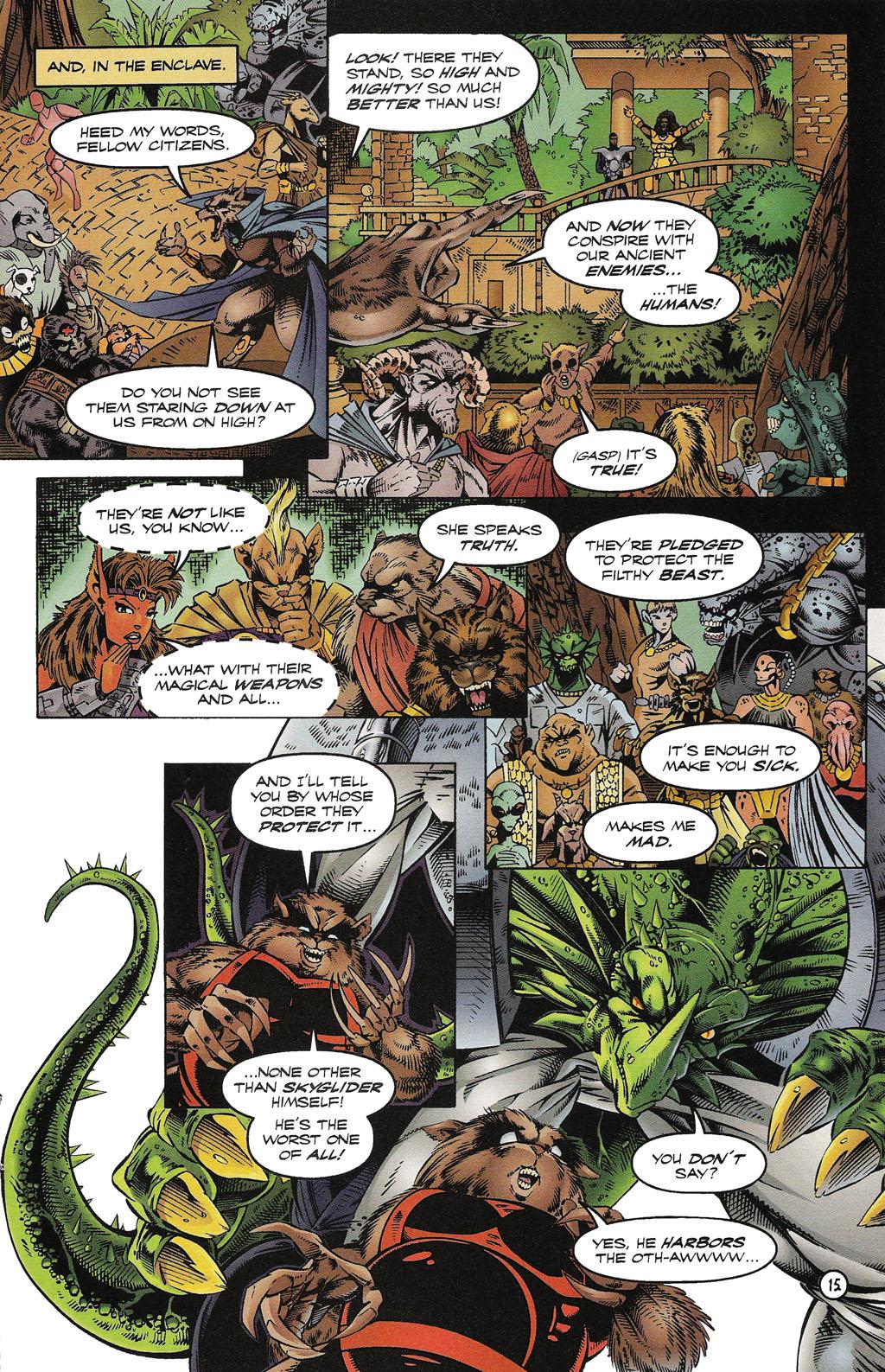 Read online ShadowHawk comic -  Issue #15 - 18