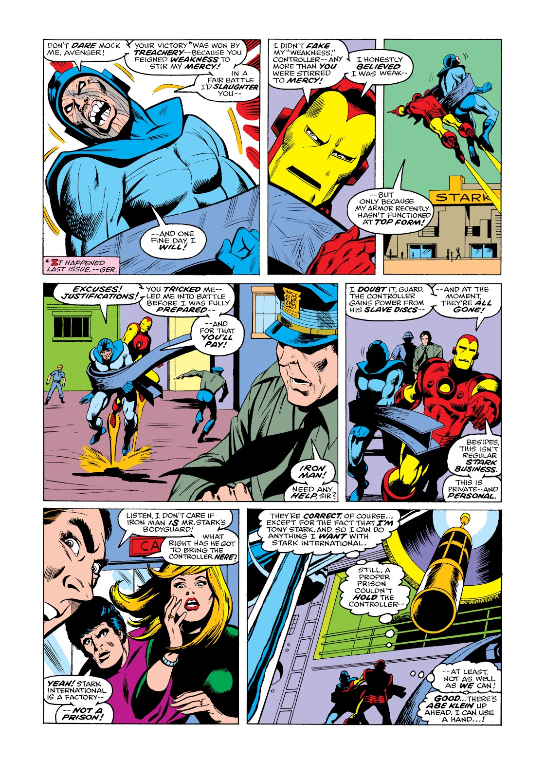 Read online Marvel Masterworks: The Invincible Iron Man comic -  Issue # TPB 11 (Part 3) - 13