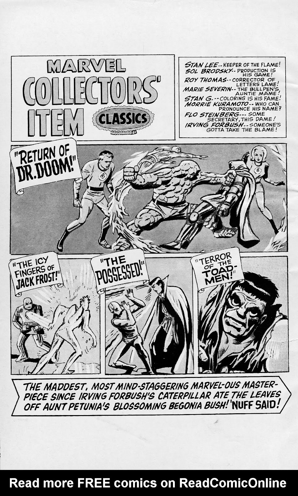 Marvel Collectors' Item Classics issue 8 - Page 2