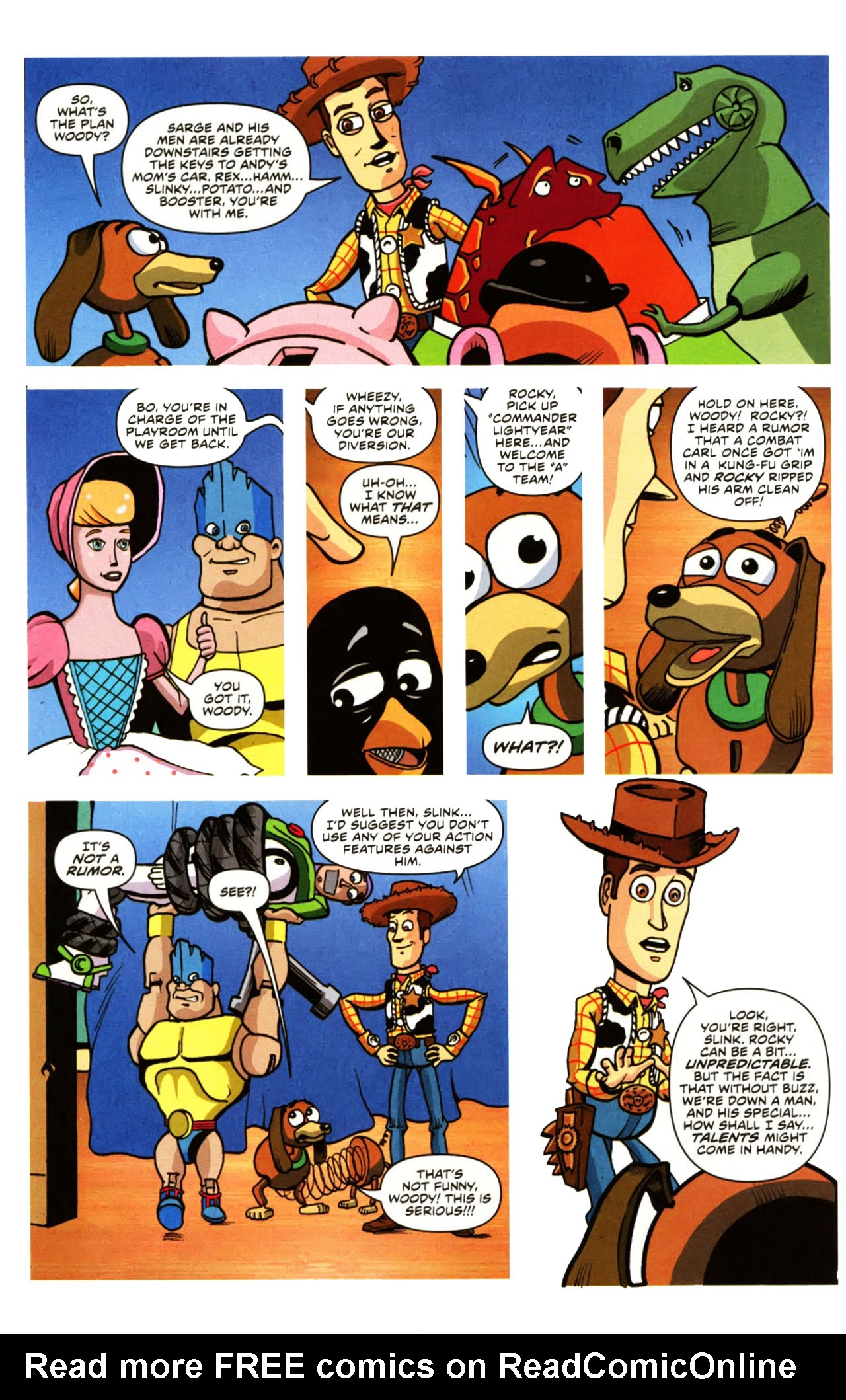 Read online Toy Story (2009) comic -  Issue #1 - 8