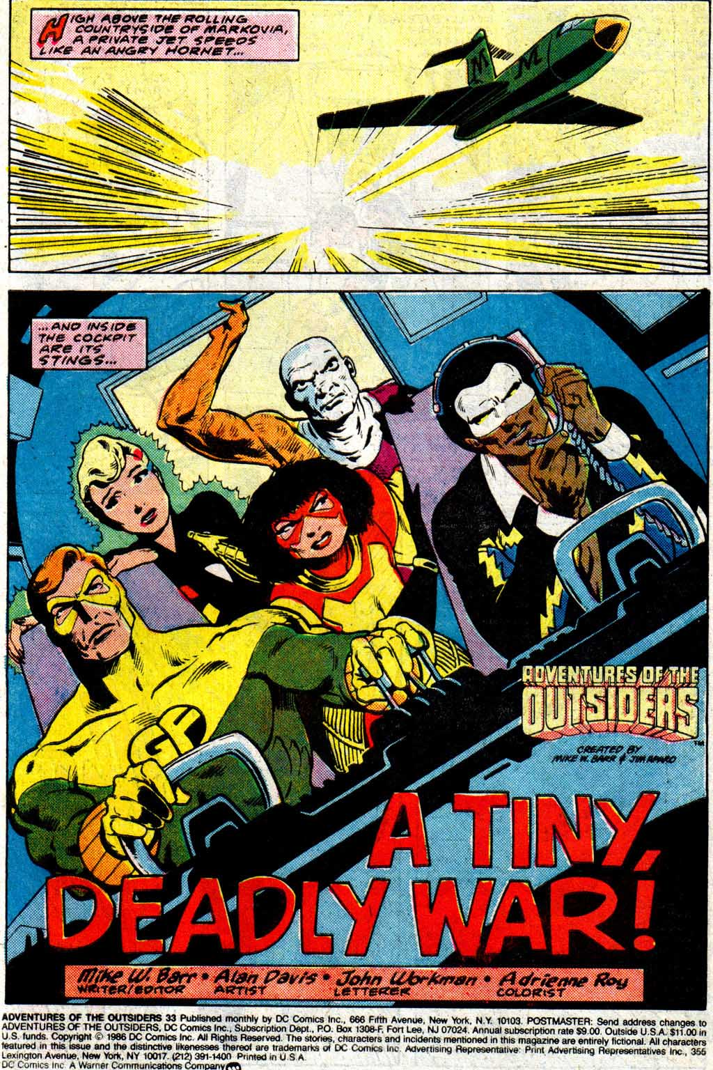 Read online Adventures of the Outsiders comic -  Issue #33 - 3
