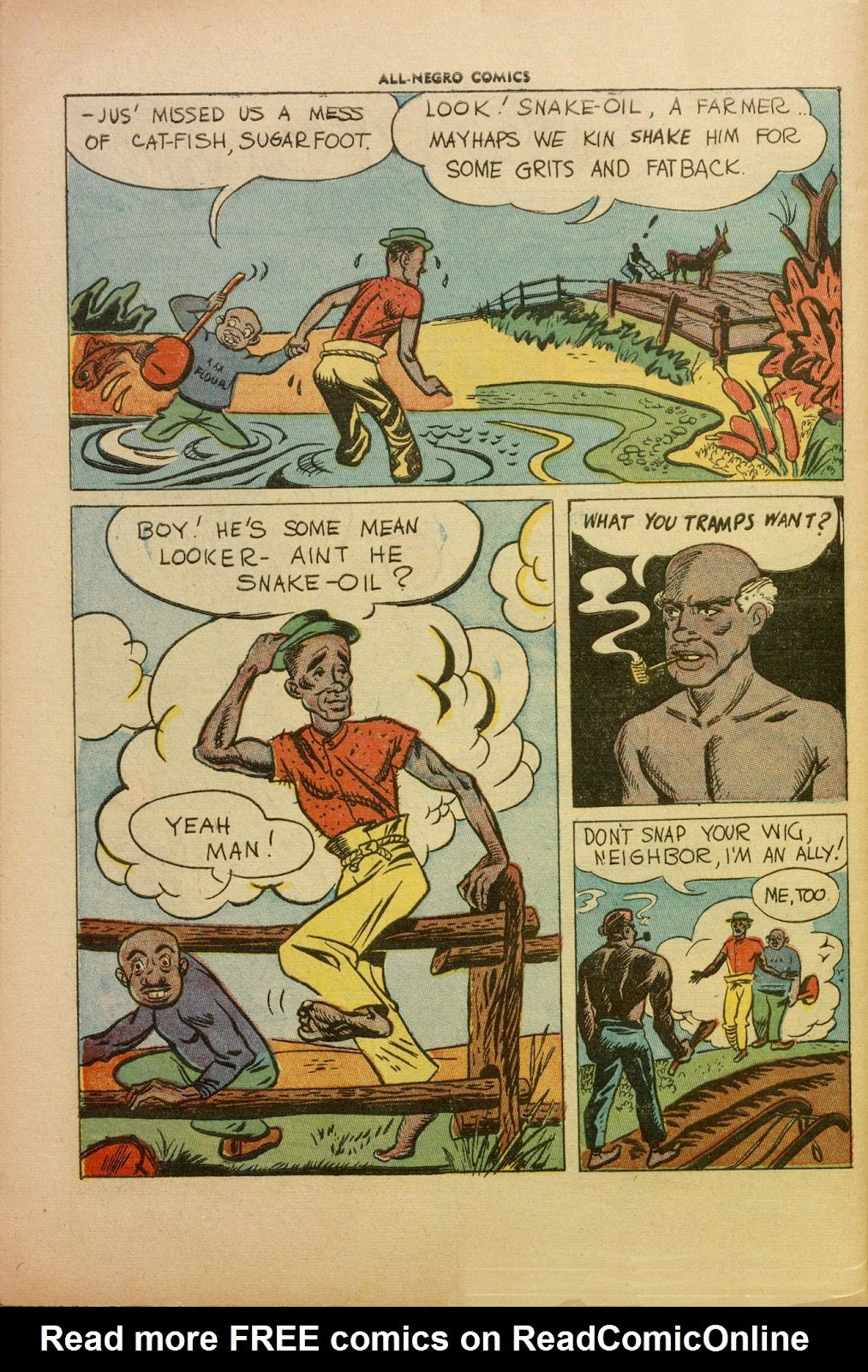 All-Negro Comics issue Full - Page 43