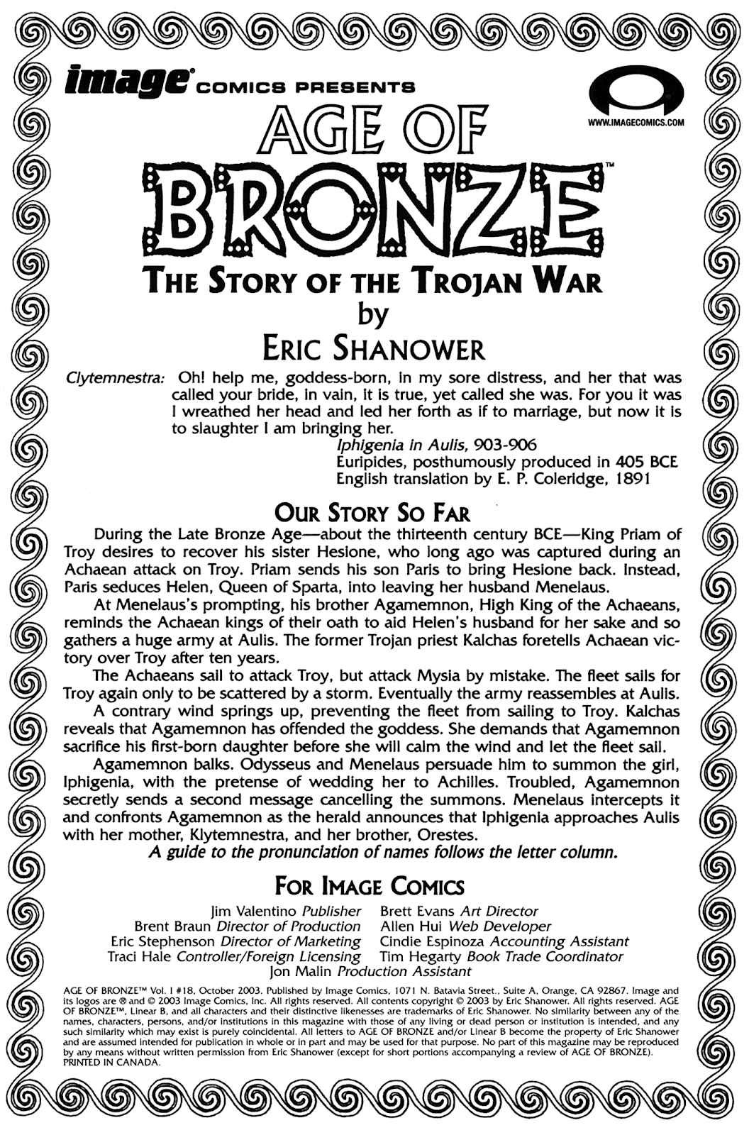 Age of Bronze issue 18 - Page 2