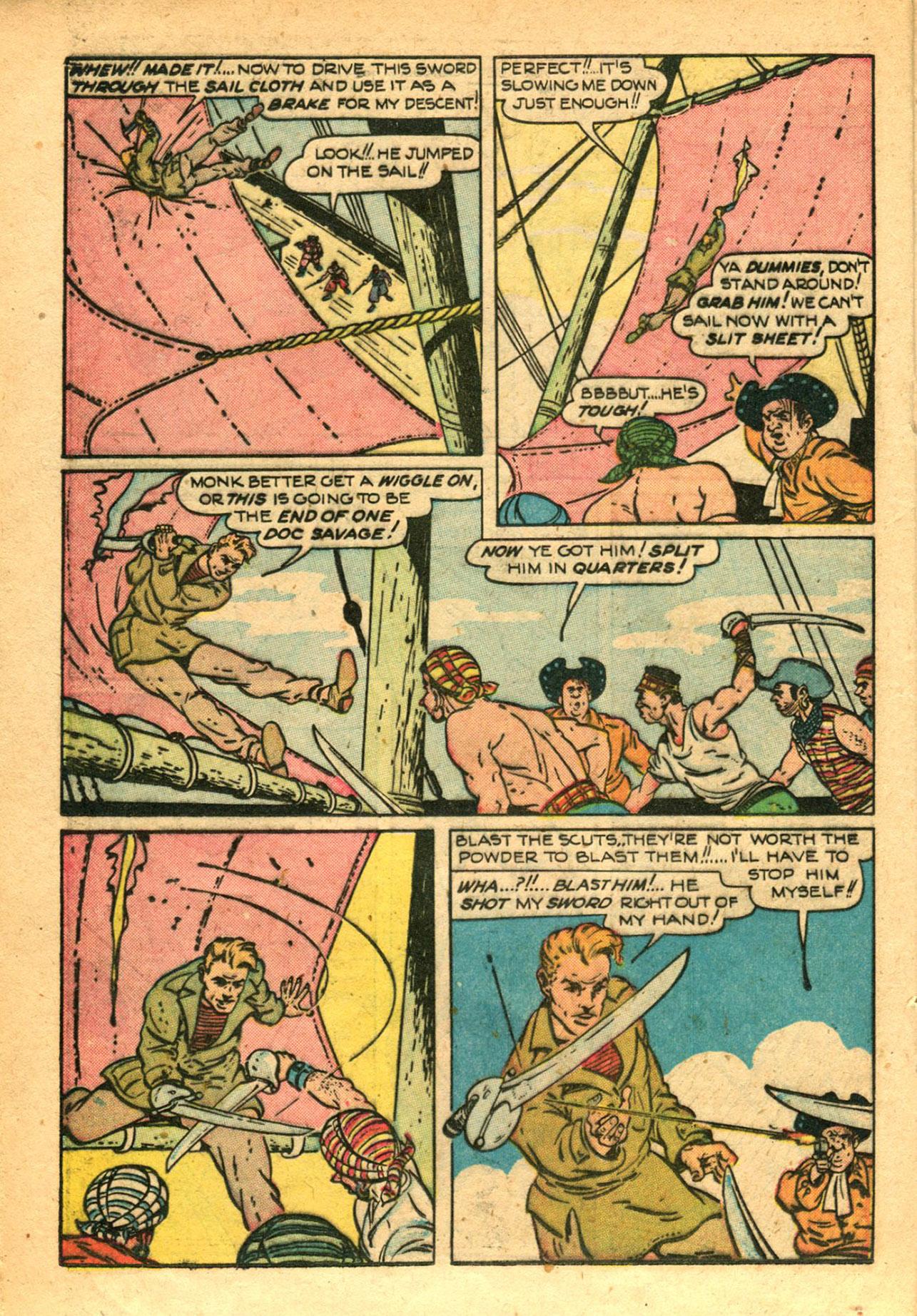 Read online Shadow Comics comic -  Issue #78 - 30