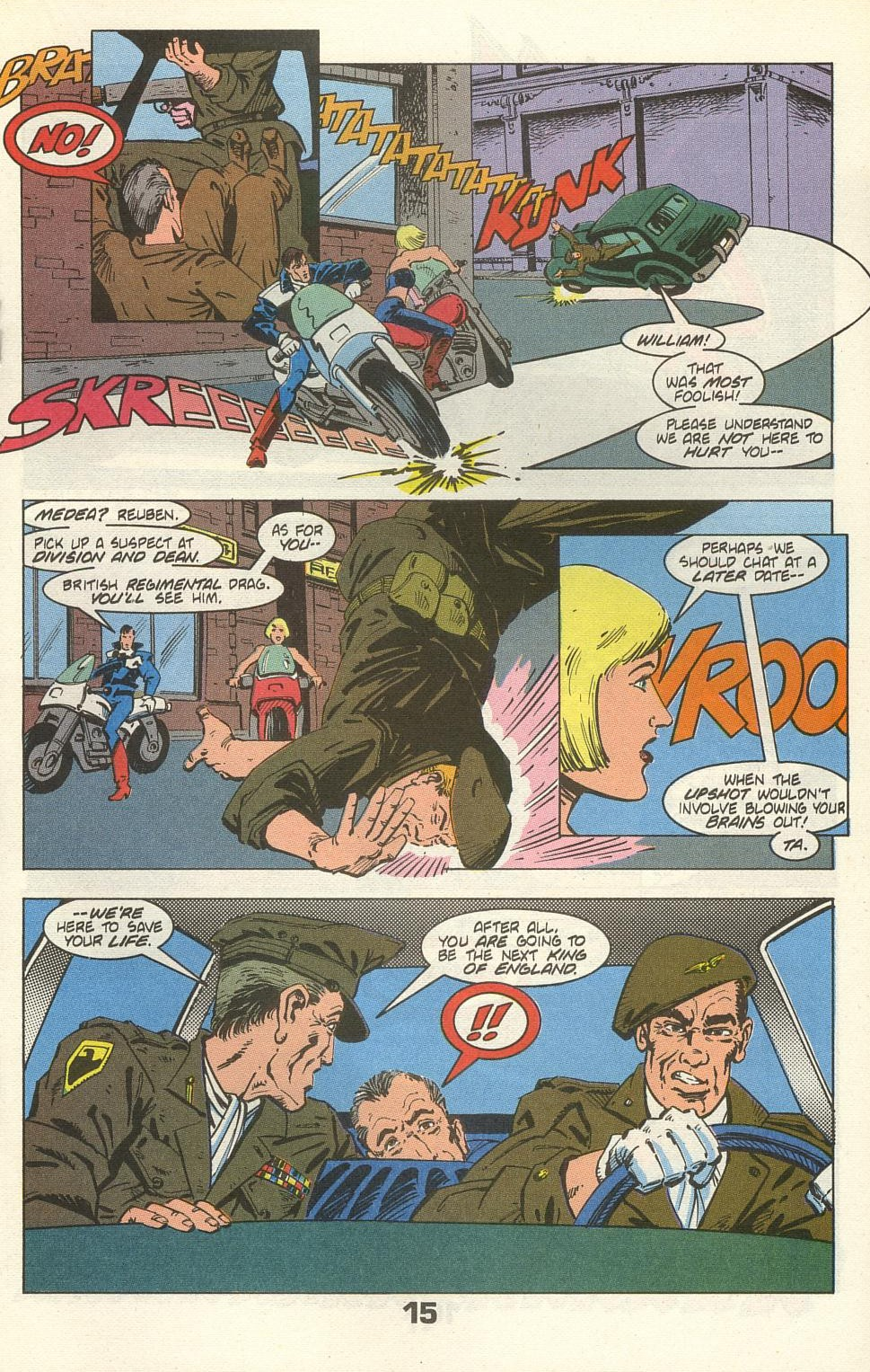 Read online American Flagg! comic -  Issue #35 - 19
