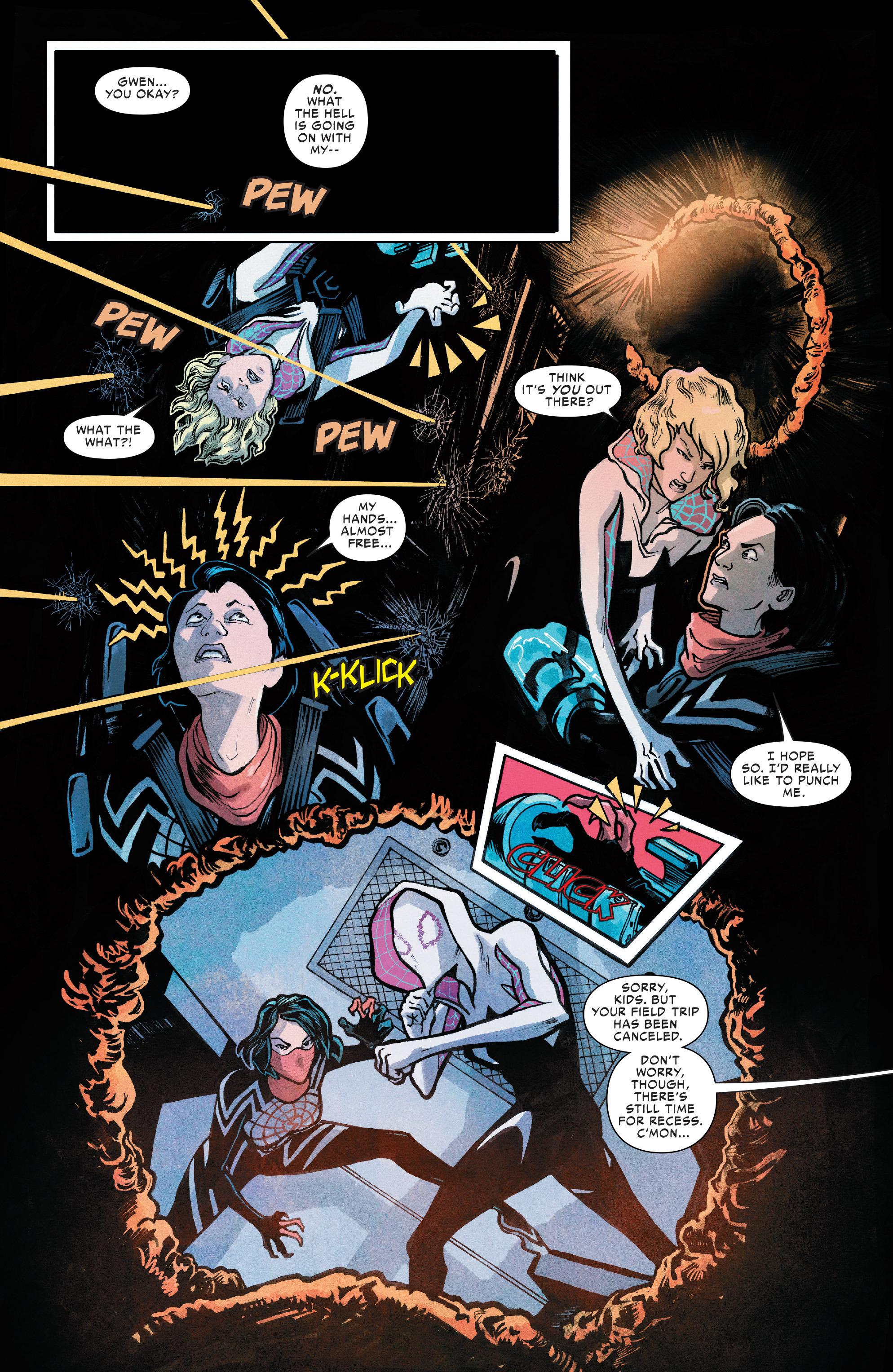 Read online Silk (2016) comic -  Issue #8 - 13