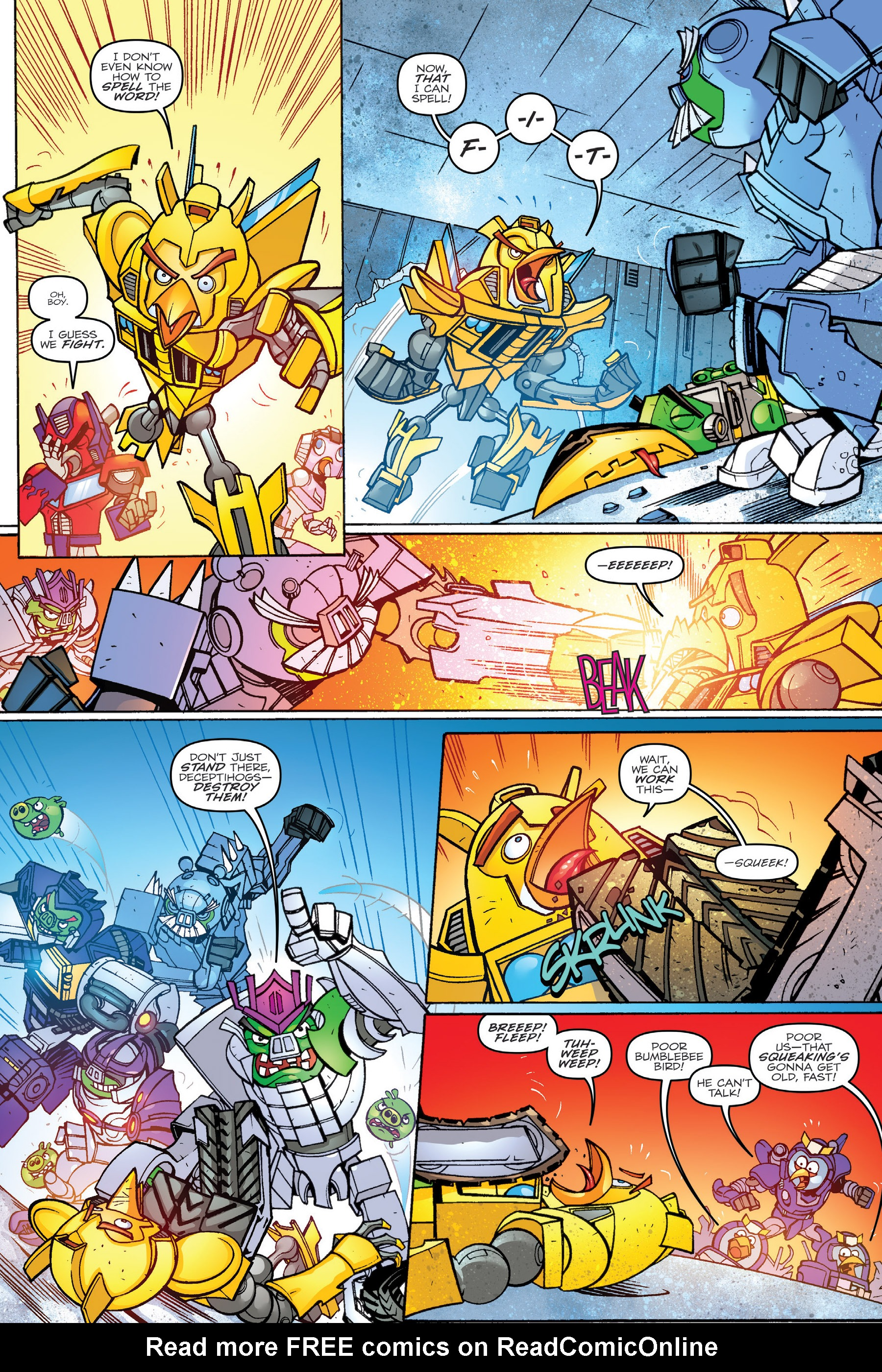 Read online Angry Birds Transformers: Age of Eggstinction comic -  Issue # Full - 43