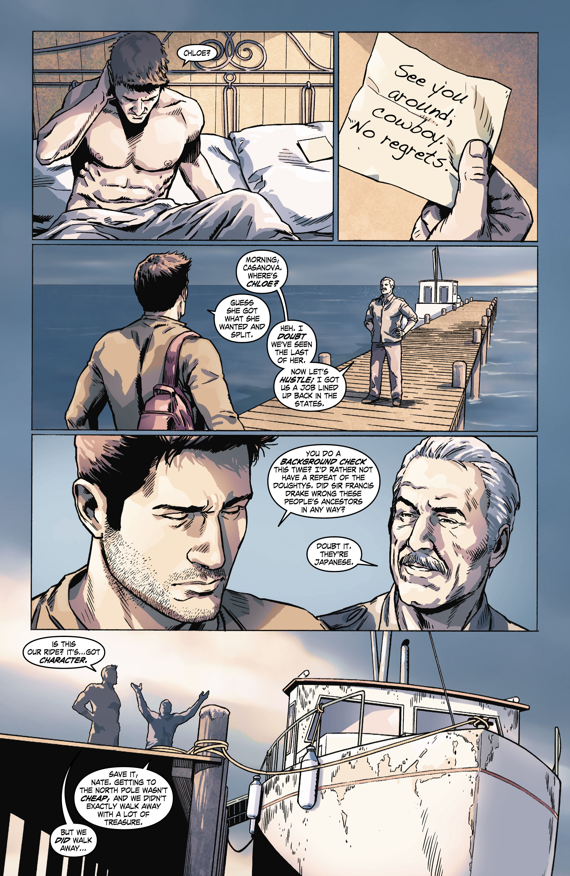 Read online Uncharted comic -  Issue #6 - 20