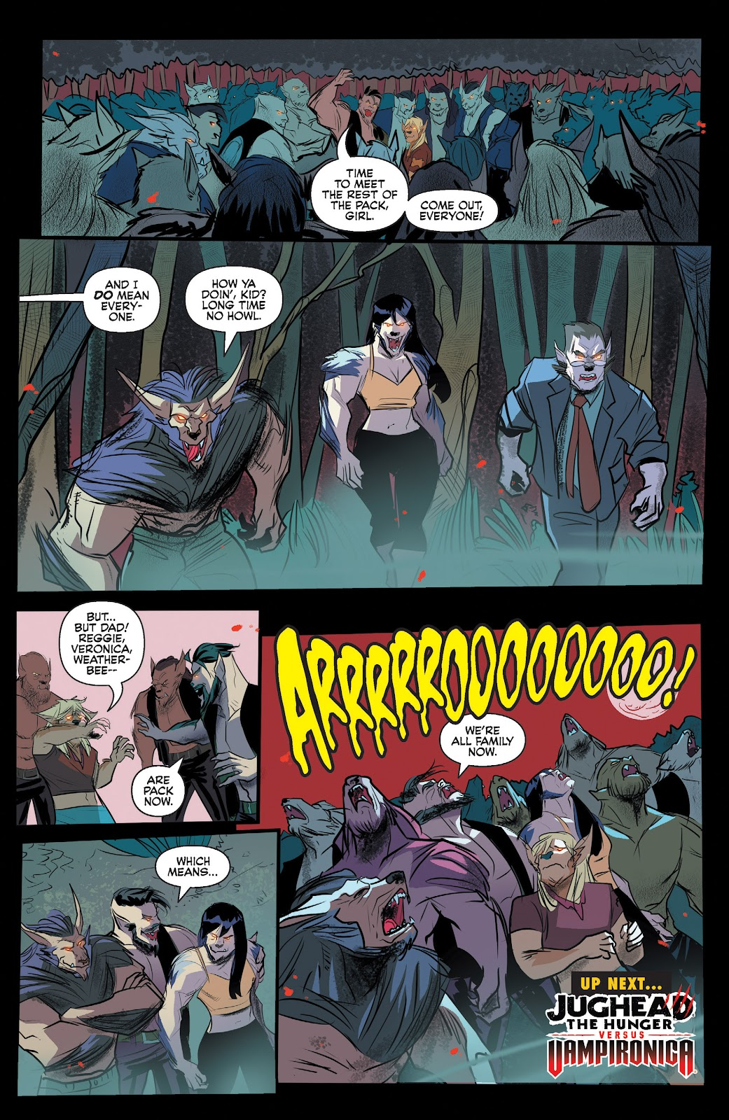 Read online Jughead The Hunger comic -  Issue #13 - 22