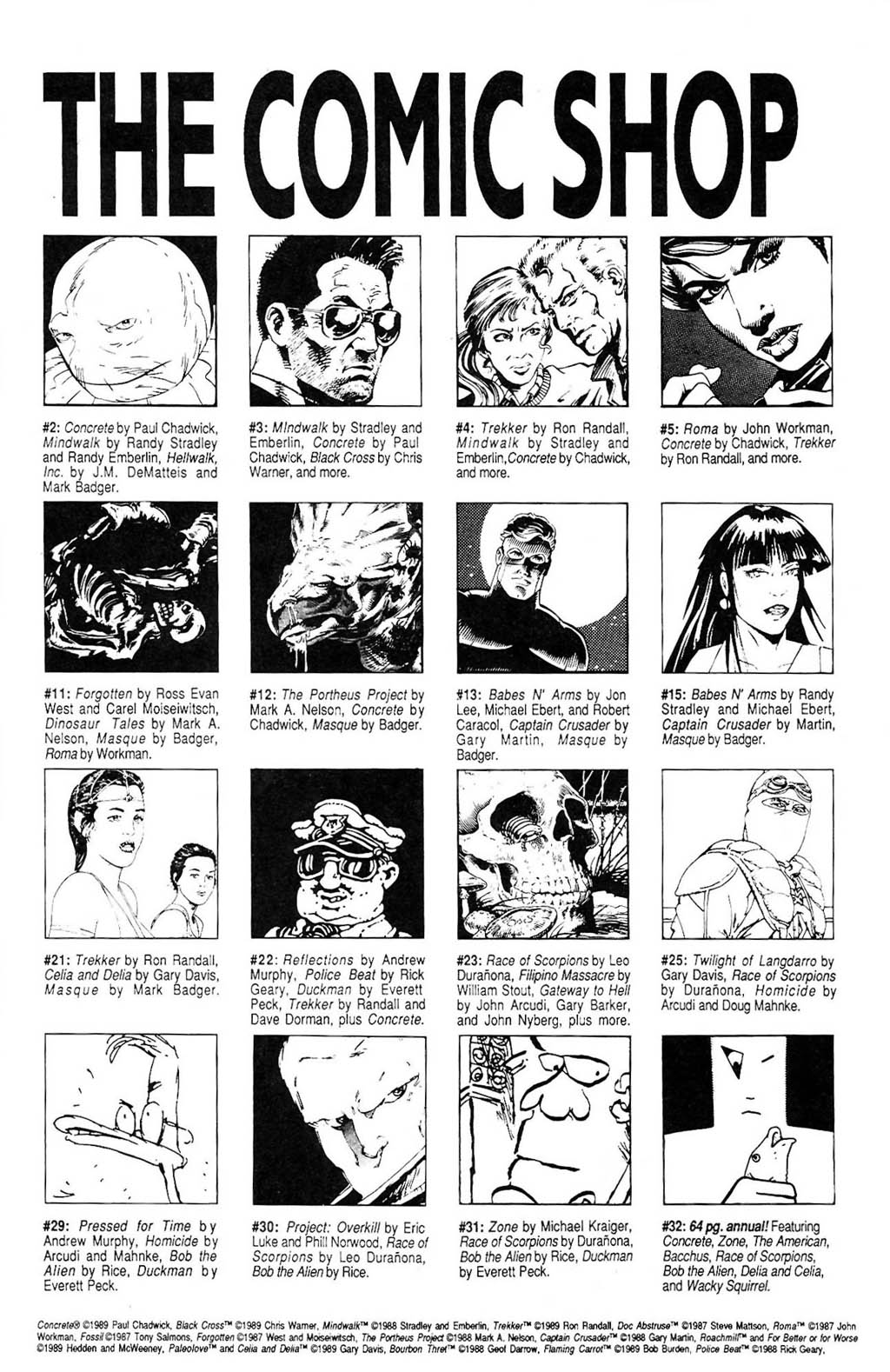 Read online The Adventures of Luther Arkwright comic -  Issue #2 - 32