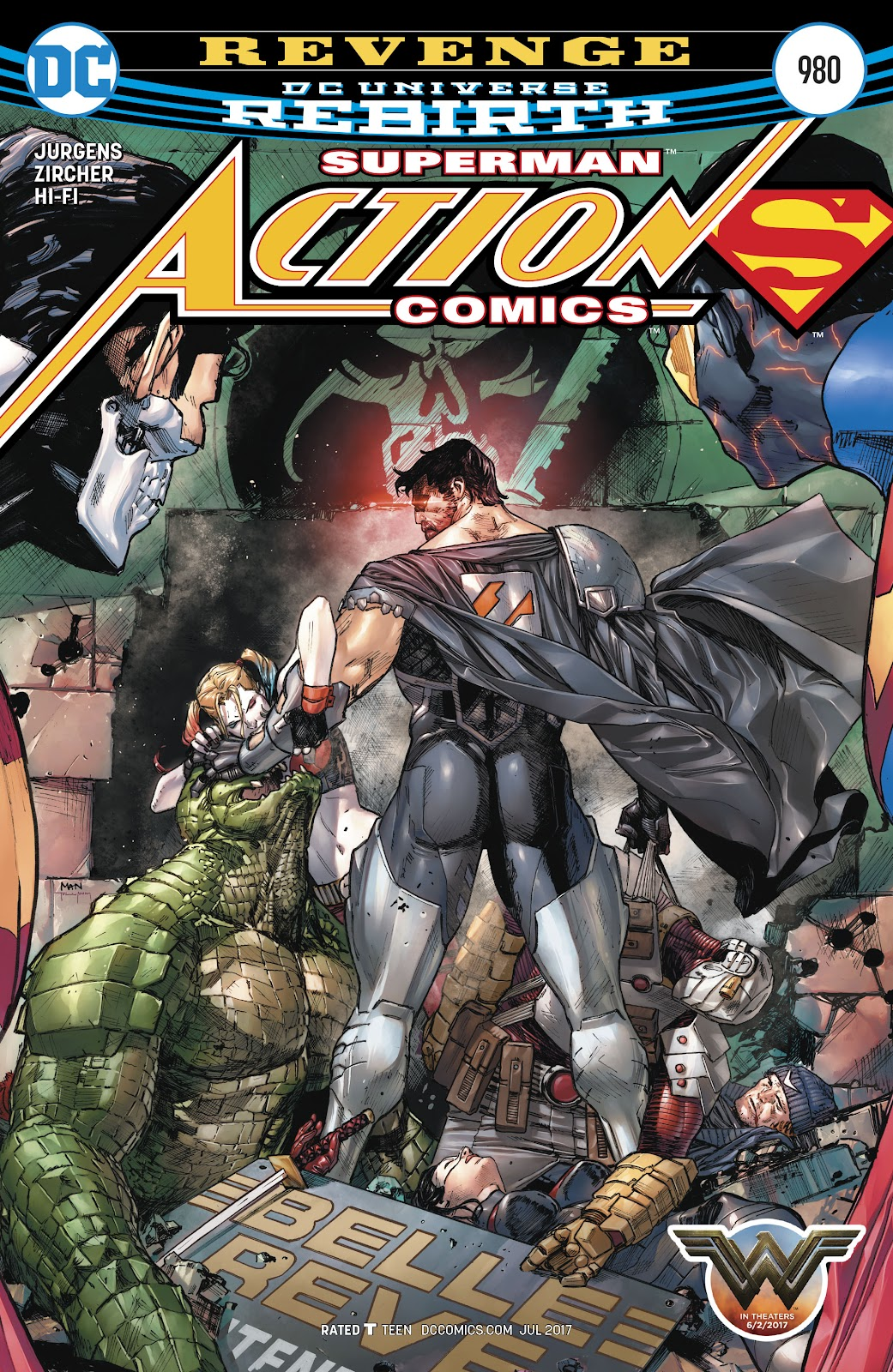 Read online Action Comics (2016) comic -  Issue #980 - 1