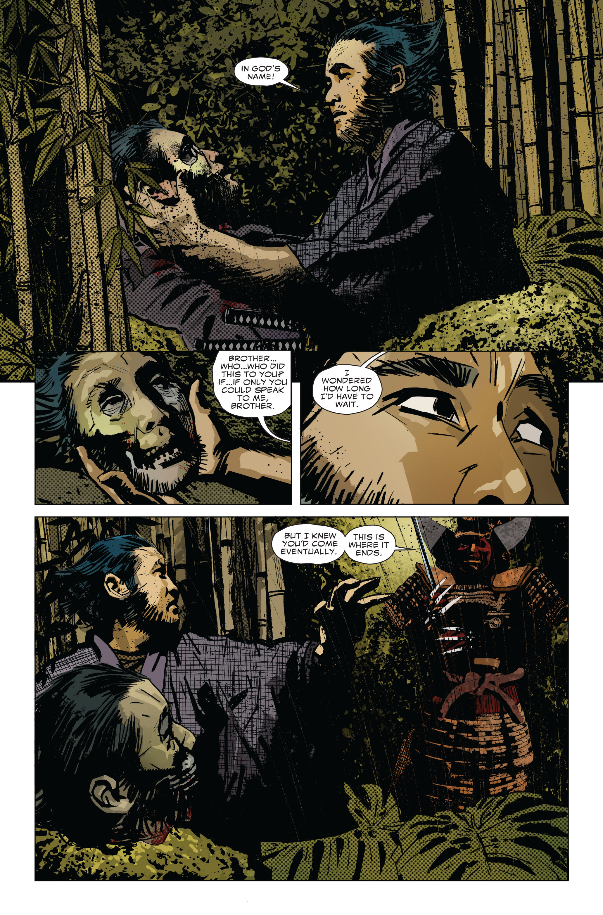 Read online 5 Ronin (2011) comic -  Issue #1 - 17