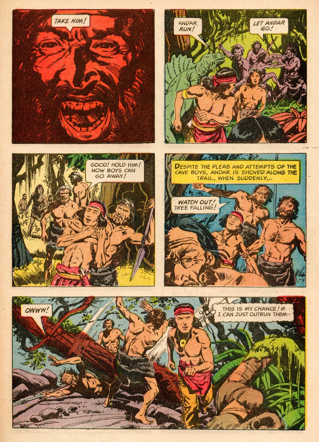 Read online Turok, Son of Stone comic -  Issue #33 - 33