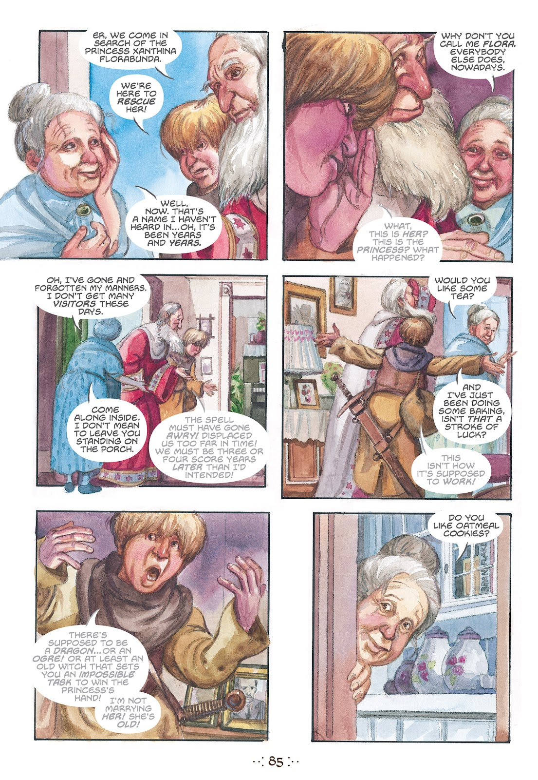 Read online The Wizard's Tale comic -  Issue # TPB - 81