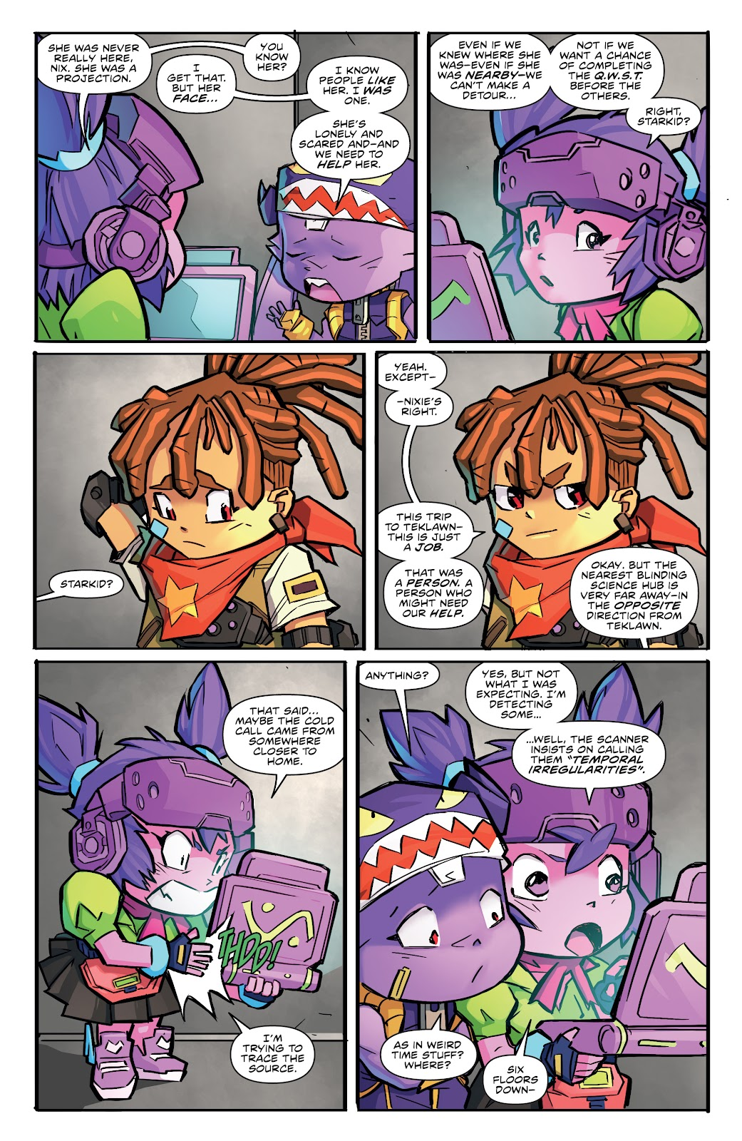 Read online Starcadia Quest comic -  Issue #2 - 9