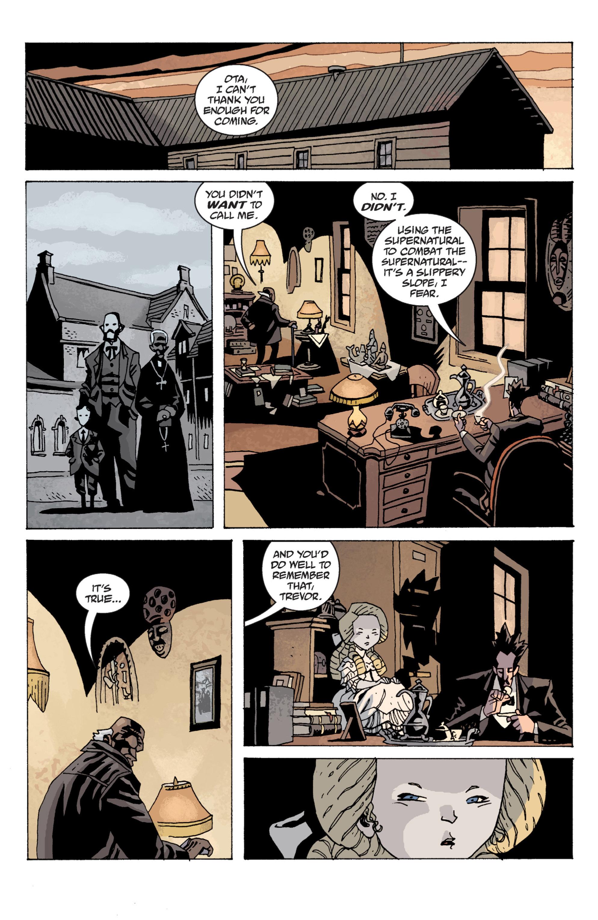 Read online B.P.R.D. (2003) comic -  Issue # TPB 13 - 130