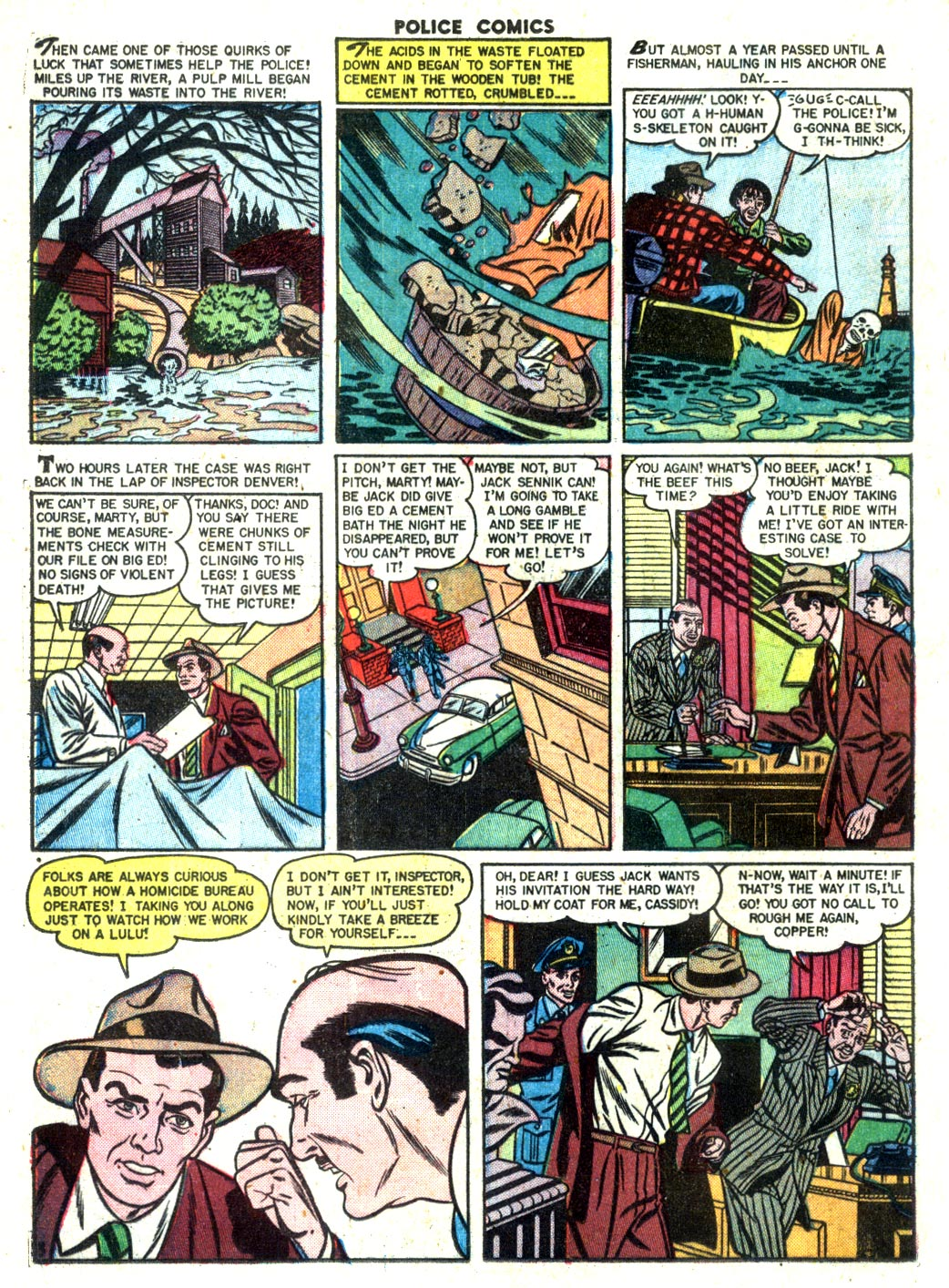 Police Comics issue 105 - Page 28