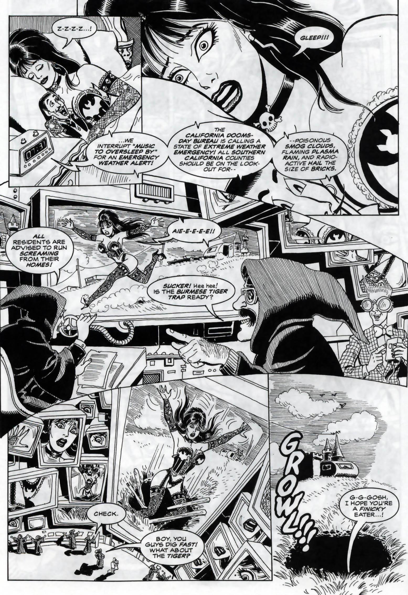Read online Elvira, Mistress of the Dark comic -  Issue #120 - 6