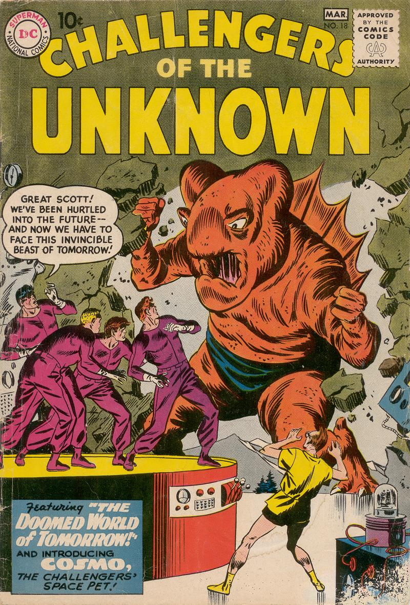 Challengers of the Unknown (1958) 18 Page 1