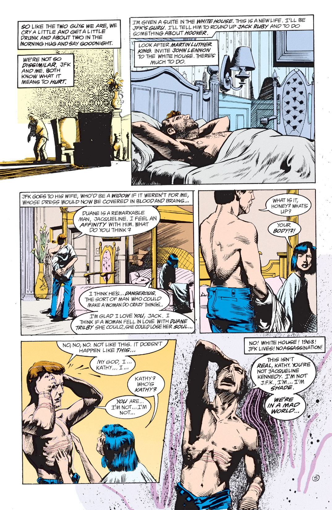 Read online Shade, the Changing Man comic -  Issue #3 - 7