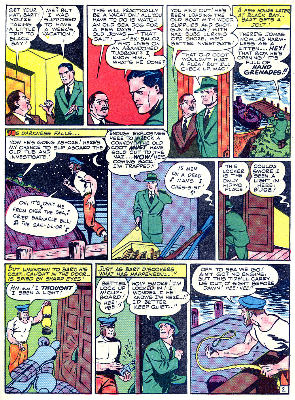 Read online Detective Comics (1937) comic -  Issue #68 - 43
