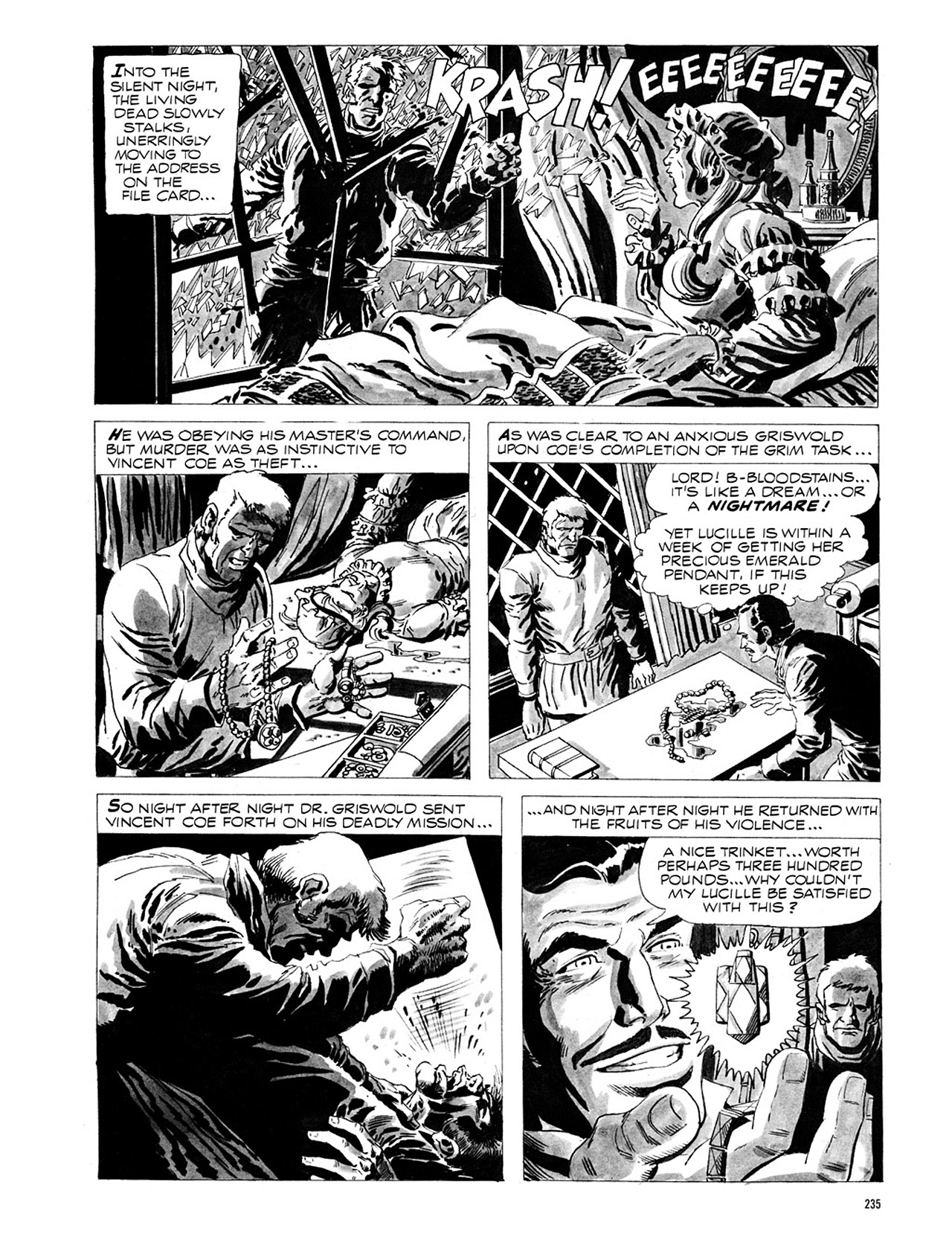 Read online Eerie Archives comic -  Issue # TPB 1 - 236