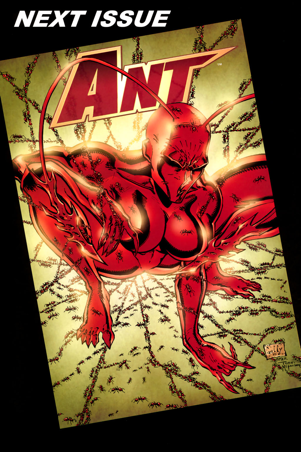 Read online Ant comic -  Issue #4 - 28