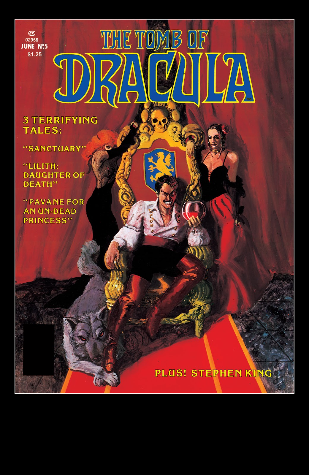 The Tomb of Dracula issue 5 - Page 1