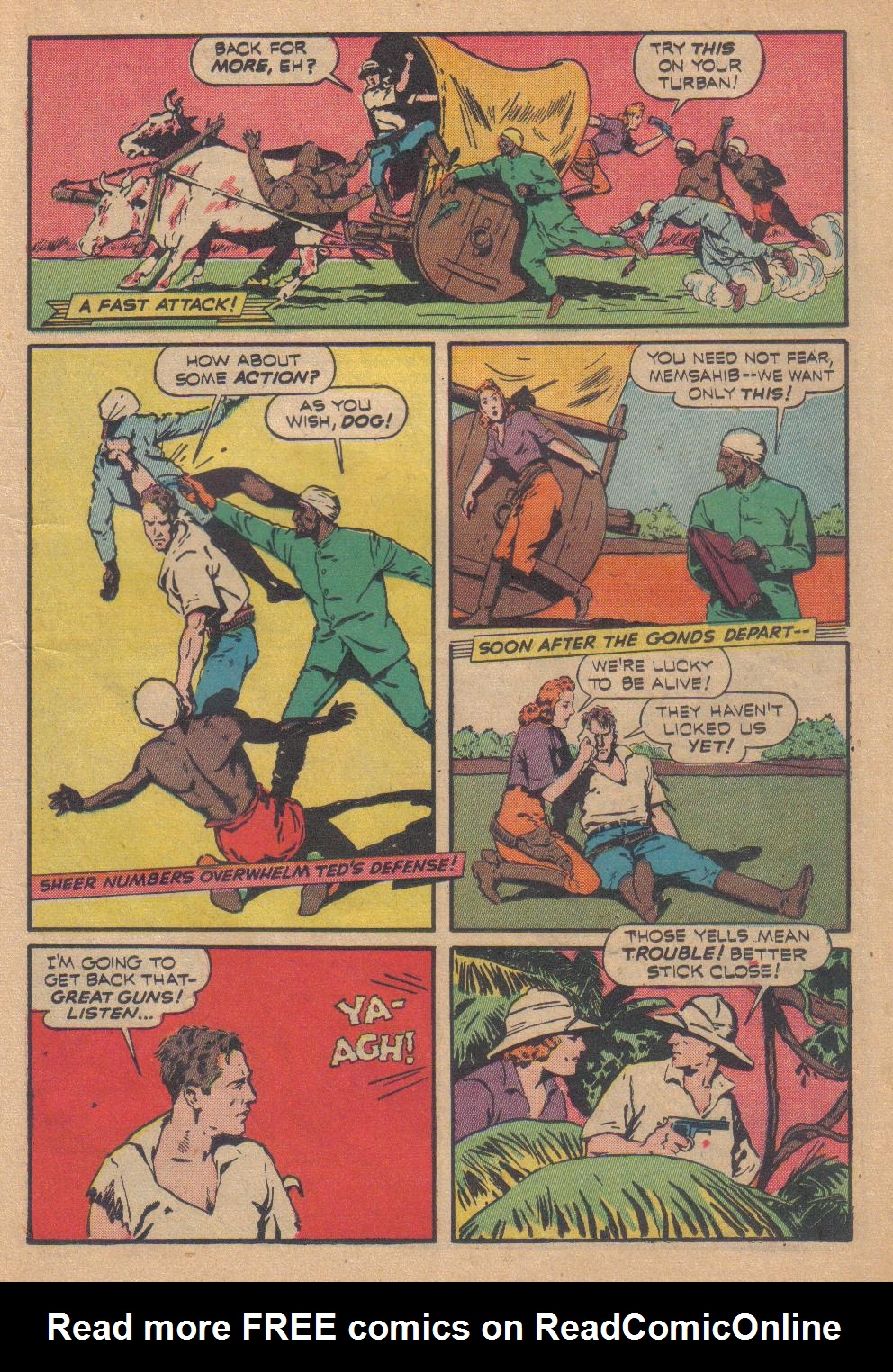 Exciting Comics (1940) issue 13 - Page 21