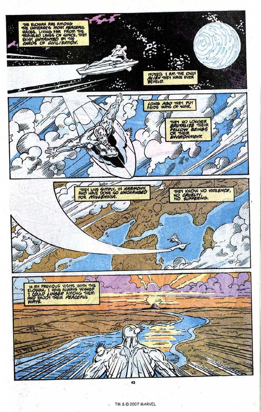 Read online Silver Surfer (1987) comic -  Issue # _Annual 3 - 45