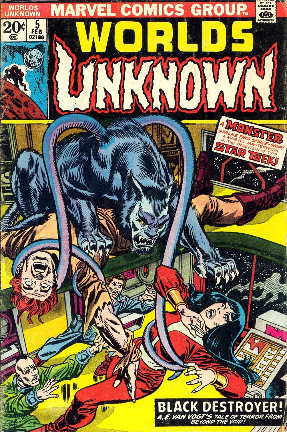 Worlds Unknown 5 Page 1